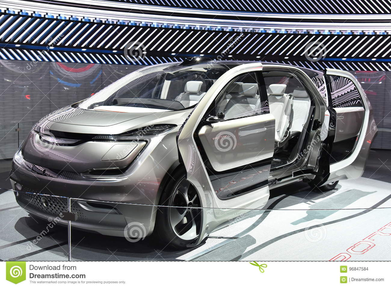 Deroit Auto Show Showcases Concept Vehicles Editorial Stock Image - Upcoming auto shows