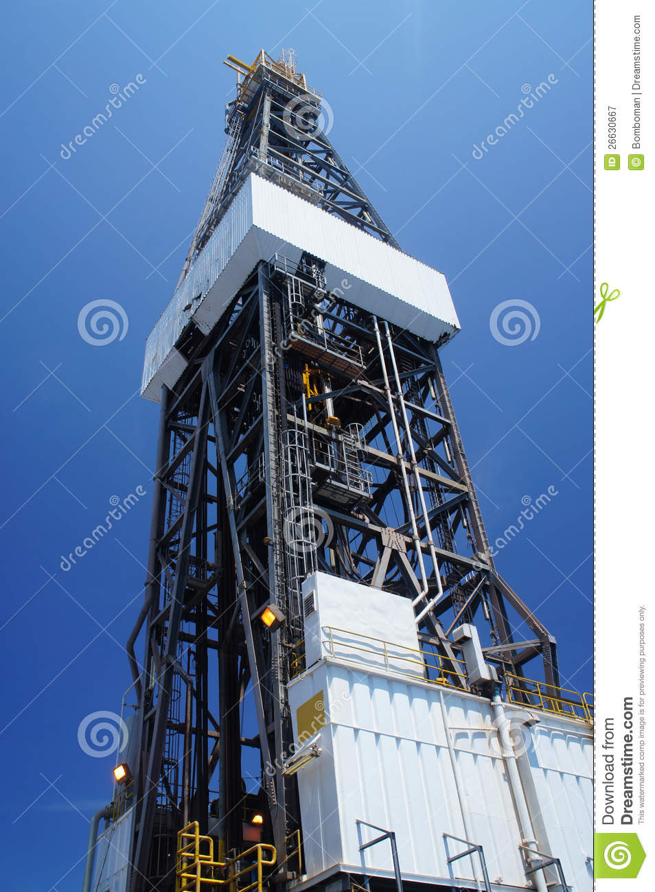 More similar stock images of ` Derrick of Offshore Jack Up Drilling ...