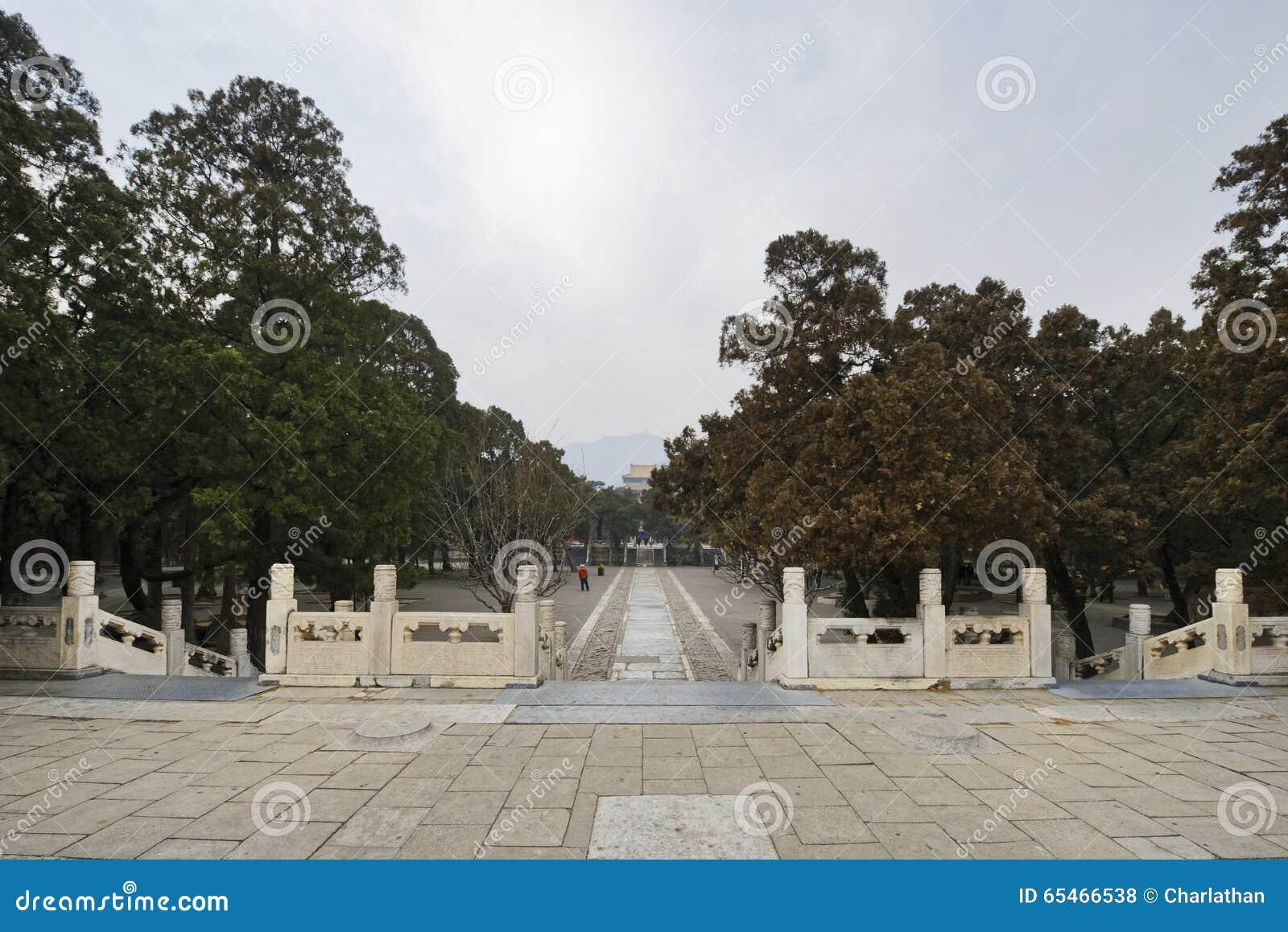 Dertien Graven van Ming Dynasty