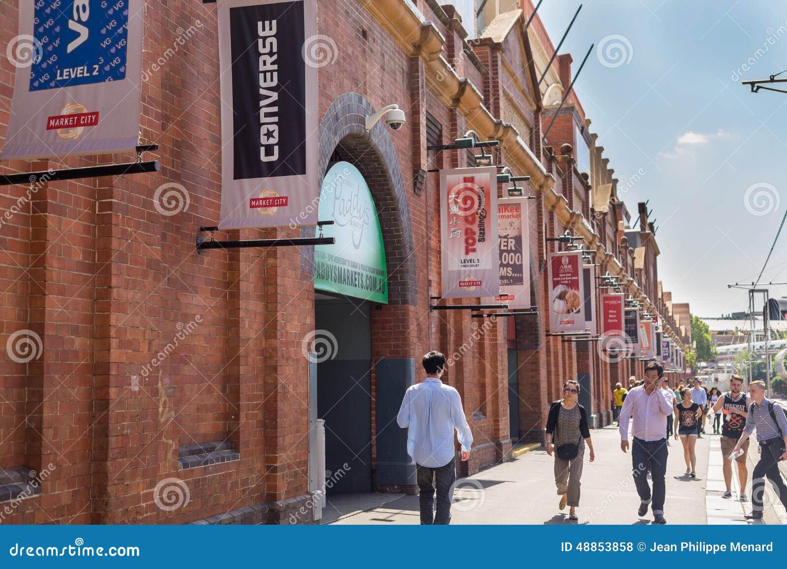 Des Markt-Stadt oder Paddys Märkte