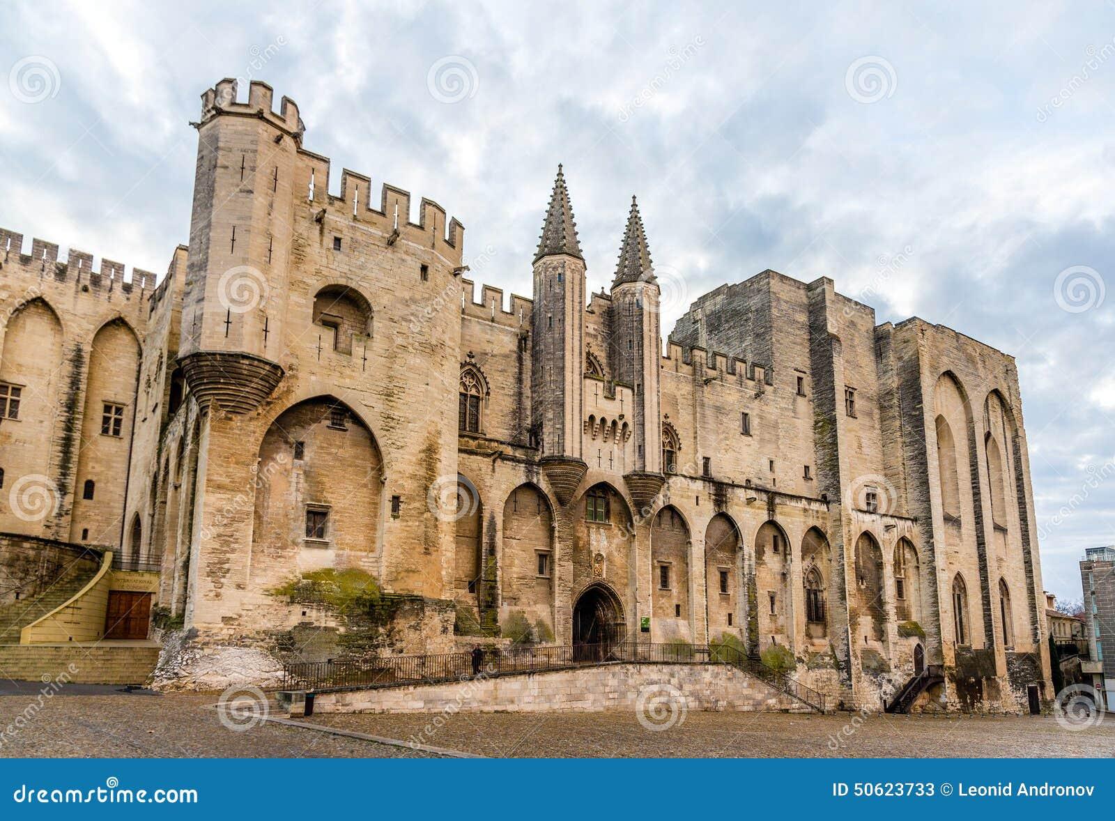 DES Papes de Palais à Avignon, un site d héritage de l UNESCO, France