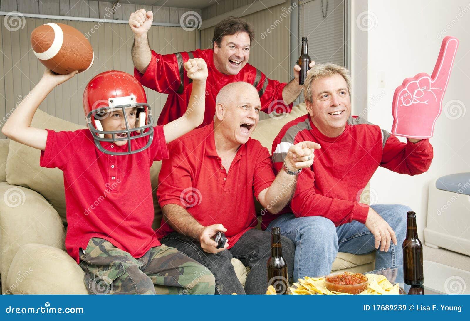 Des passionés du football - atterrissez