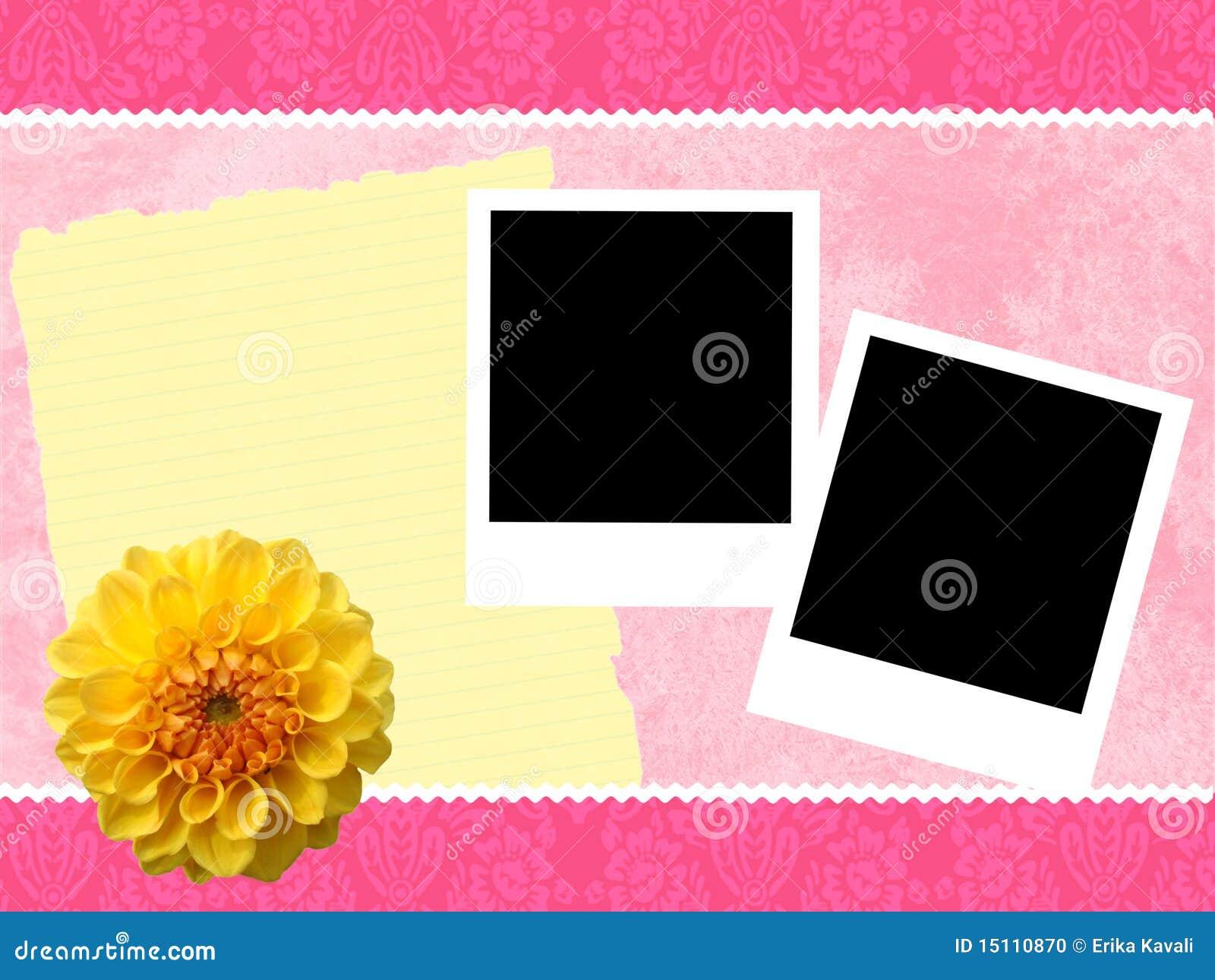 Des Rosas Rahmen girly stock abbildung. Illustration von romantisch ...