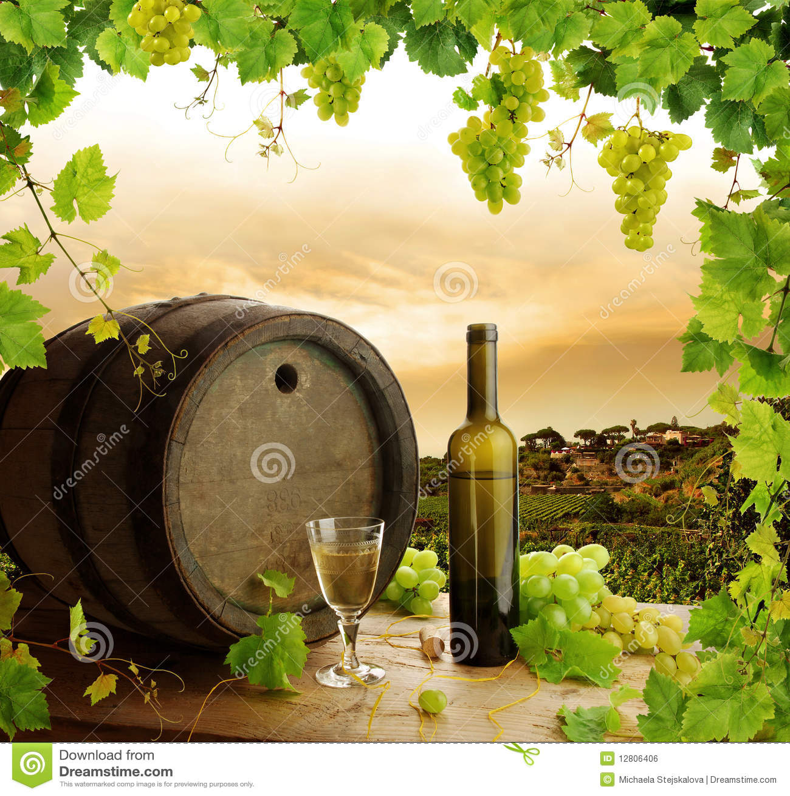 Des Weins Leben und Weinberg noch