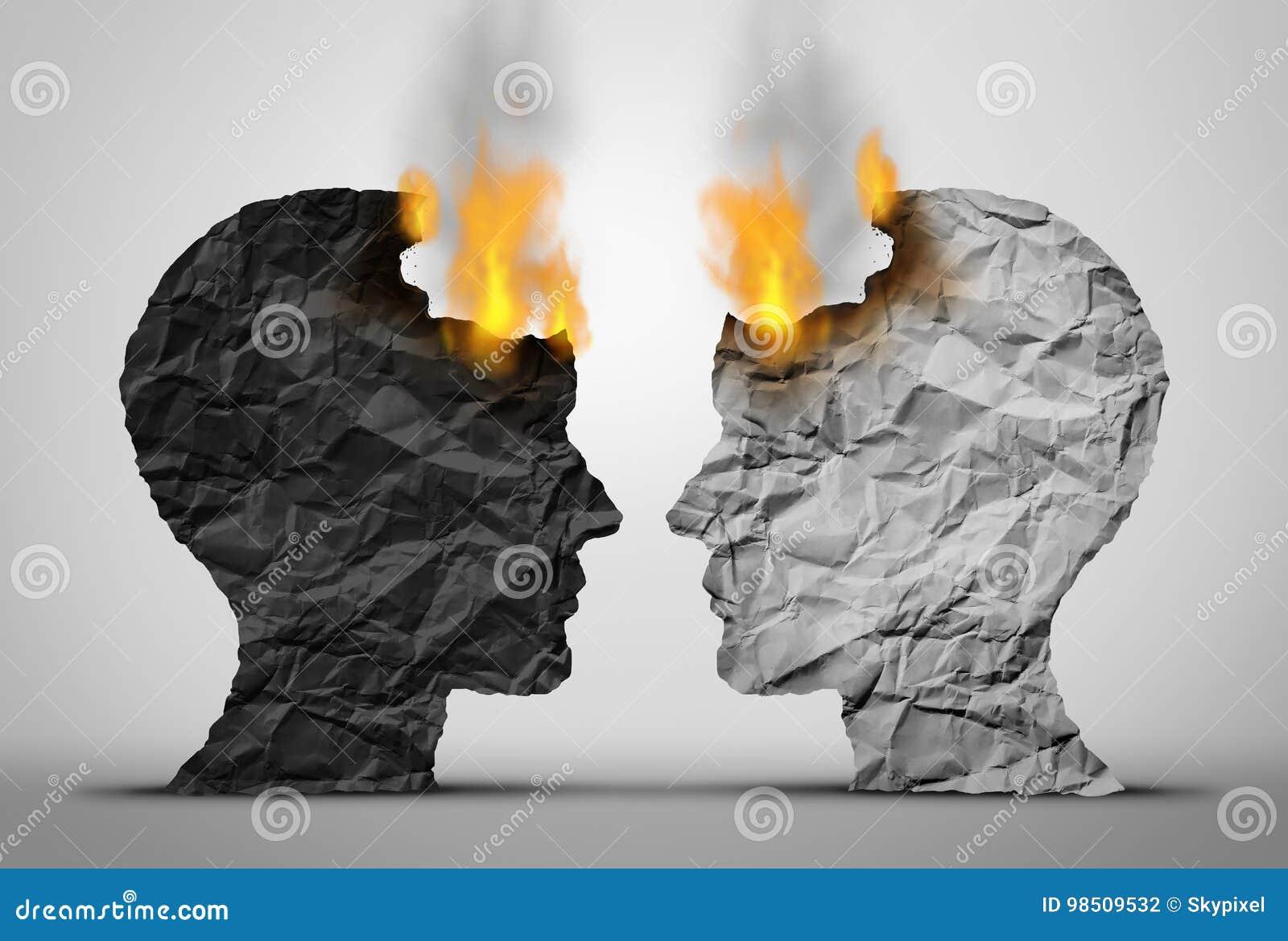 Desafío racial de las relaciones