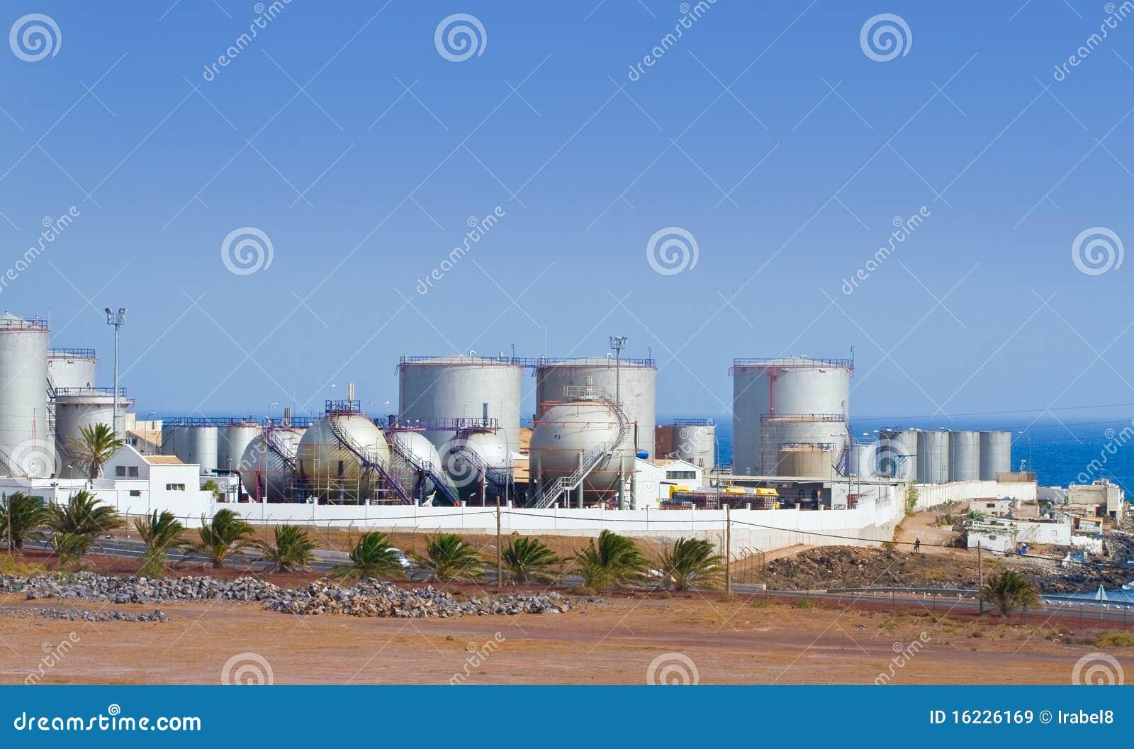 Desalination Plant stock image  Image of corrugated