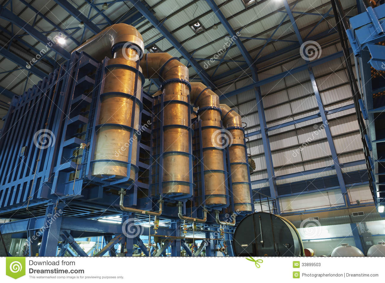 Desalination Plant Of Power Station