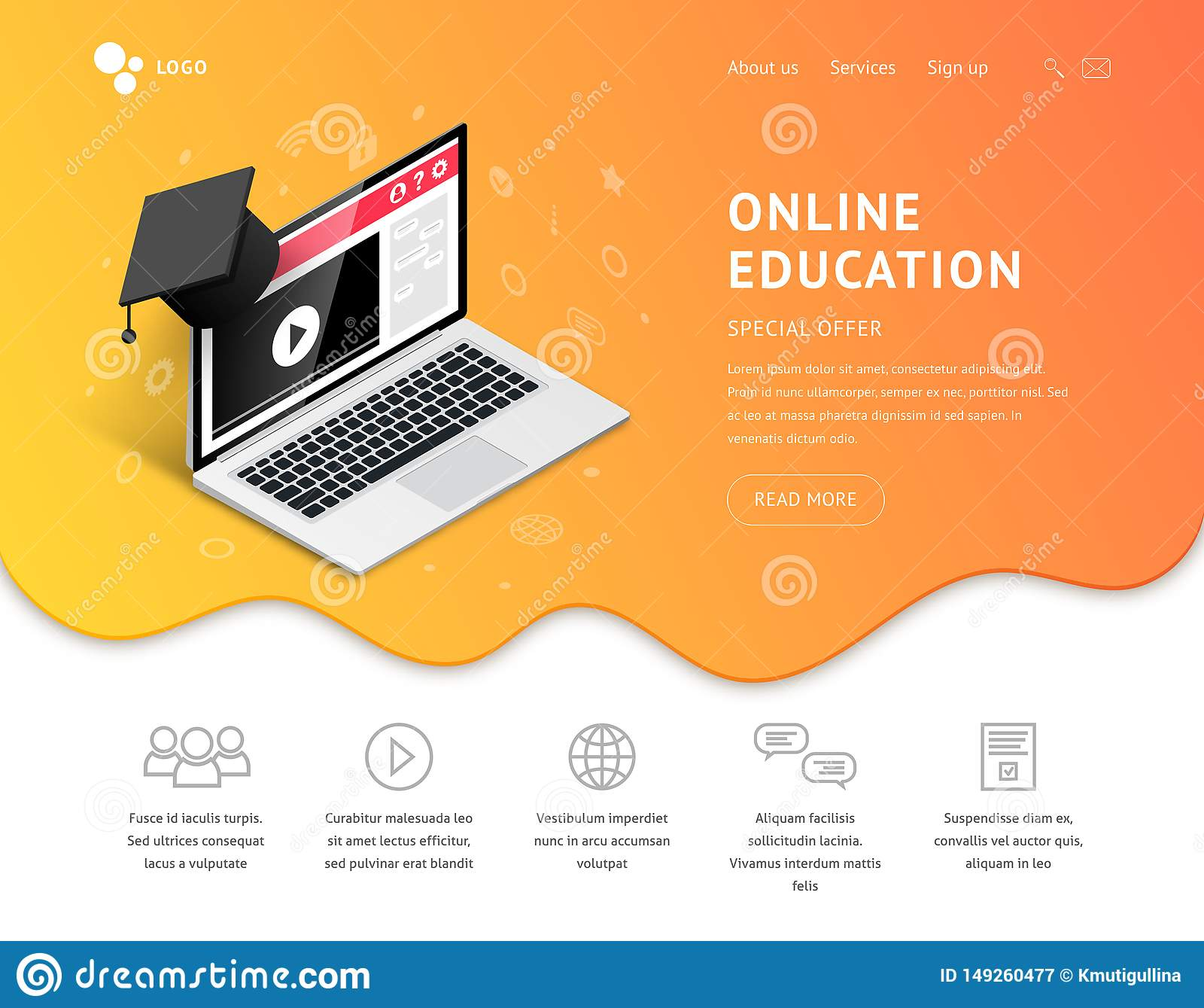 Desantowa online edukacja laptopu skalowania nakrętka