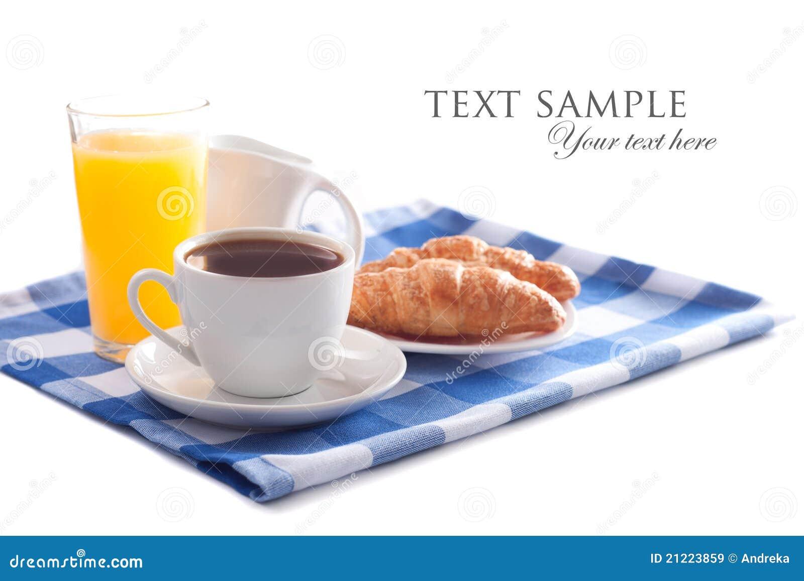 Desayuno aislado