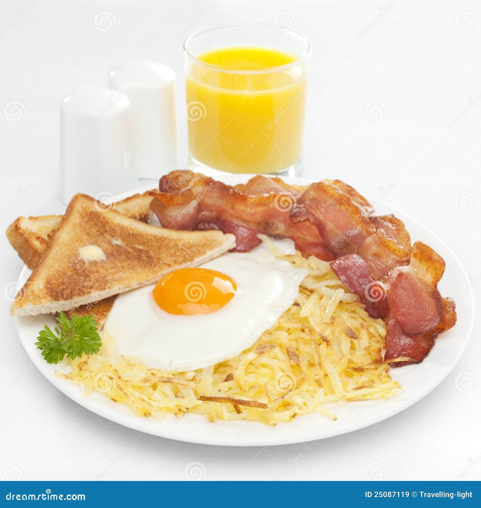 Desayuno Americano Imágenes de archivo libres de regalías ...