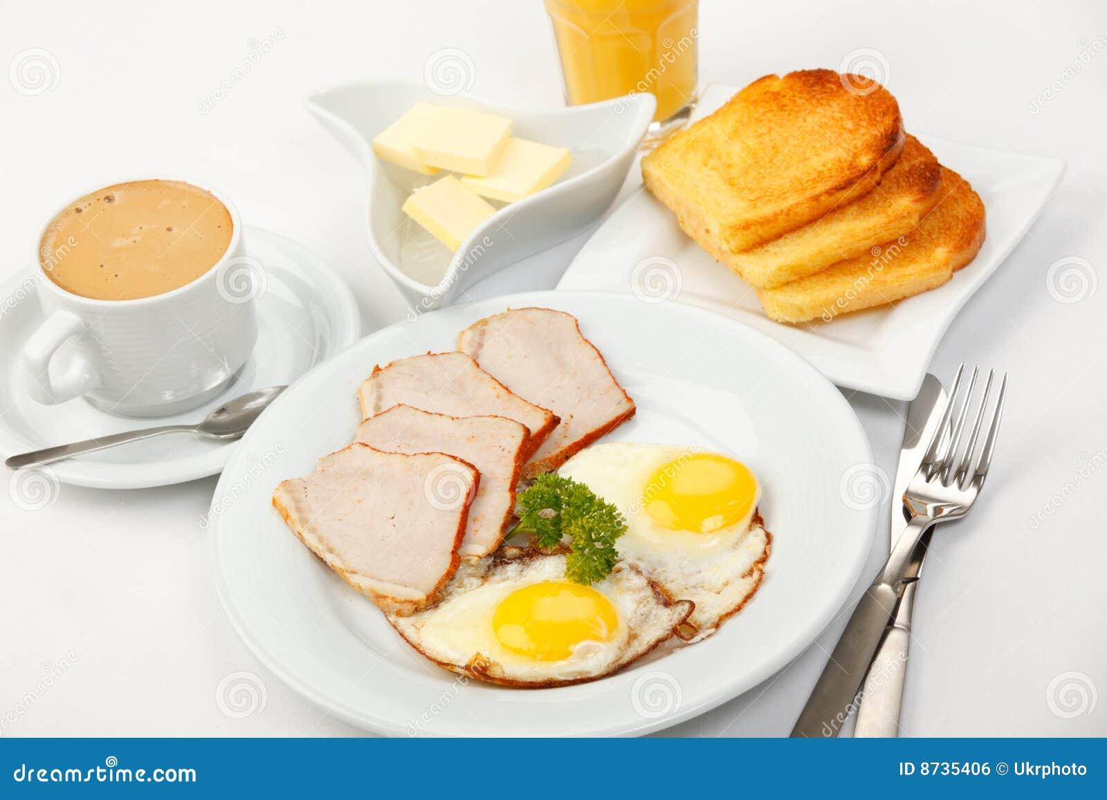 Desayuno americano foto de archivo. Imagen de desayuno ...