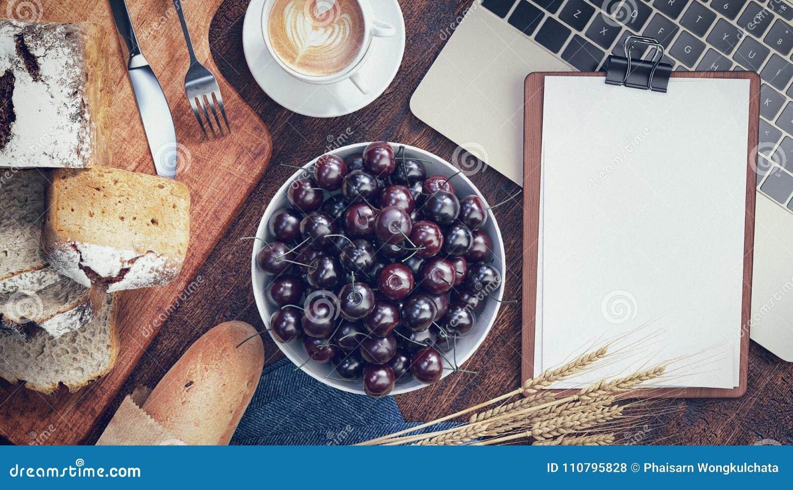 Desayuno con pan