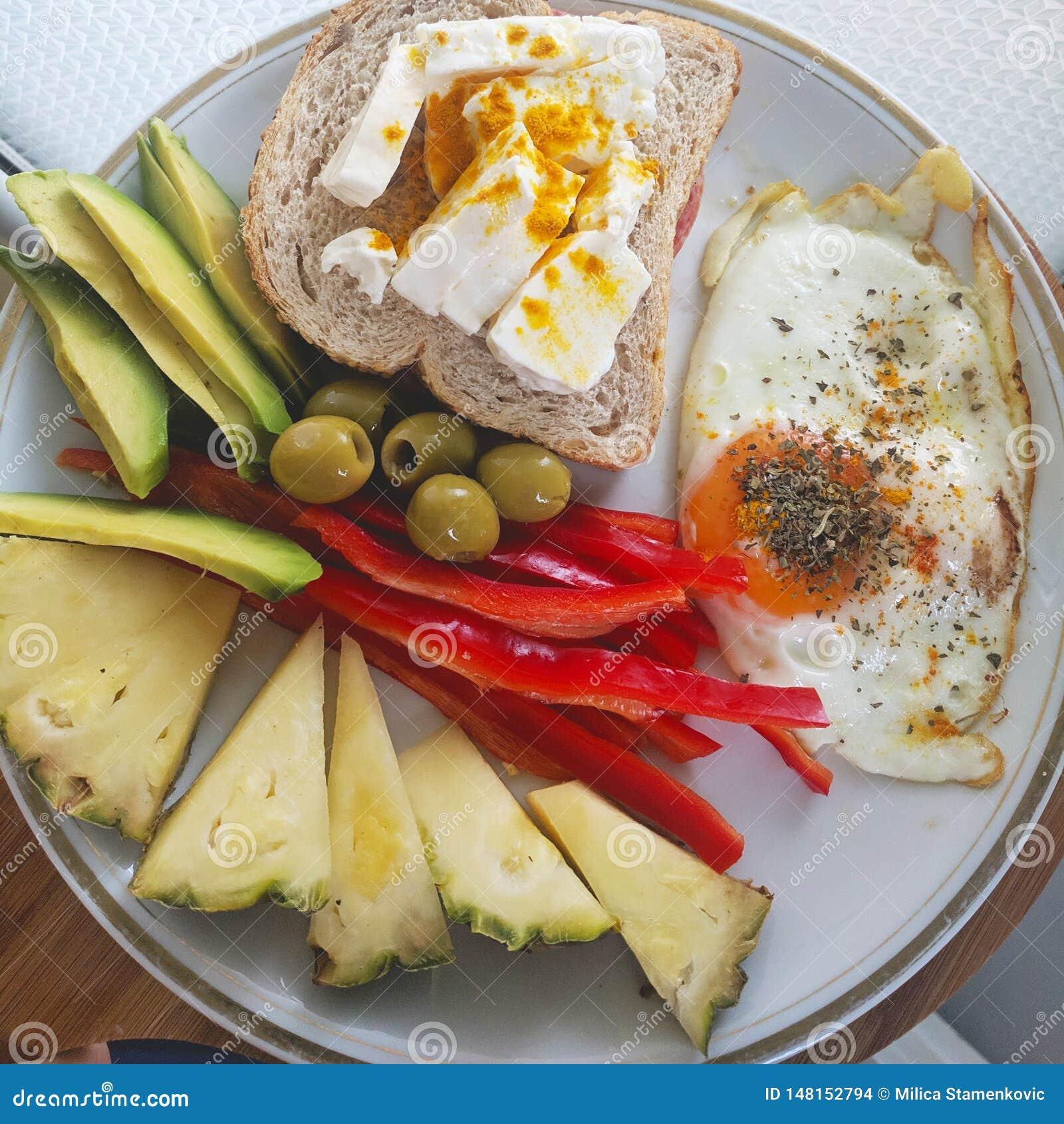 Que comer de desayuno en la dieta keto
