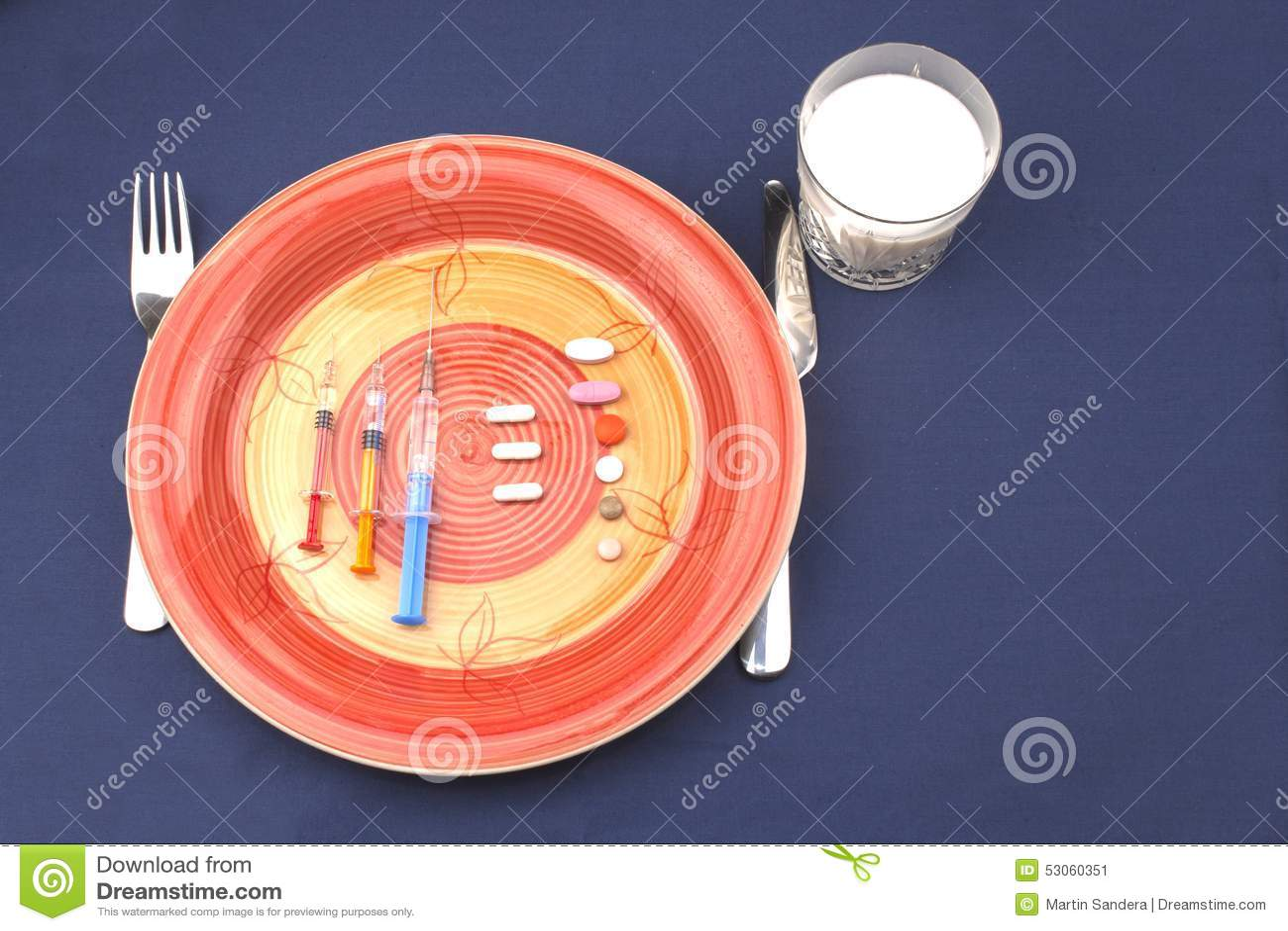 Desayuno dietético, doping anabólico
