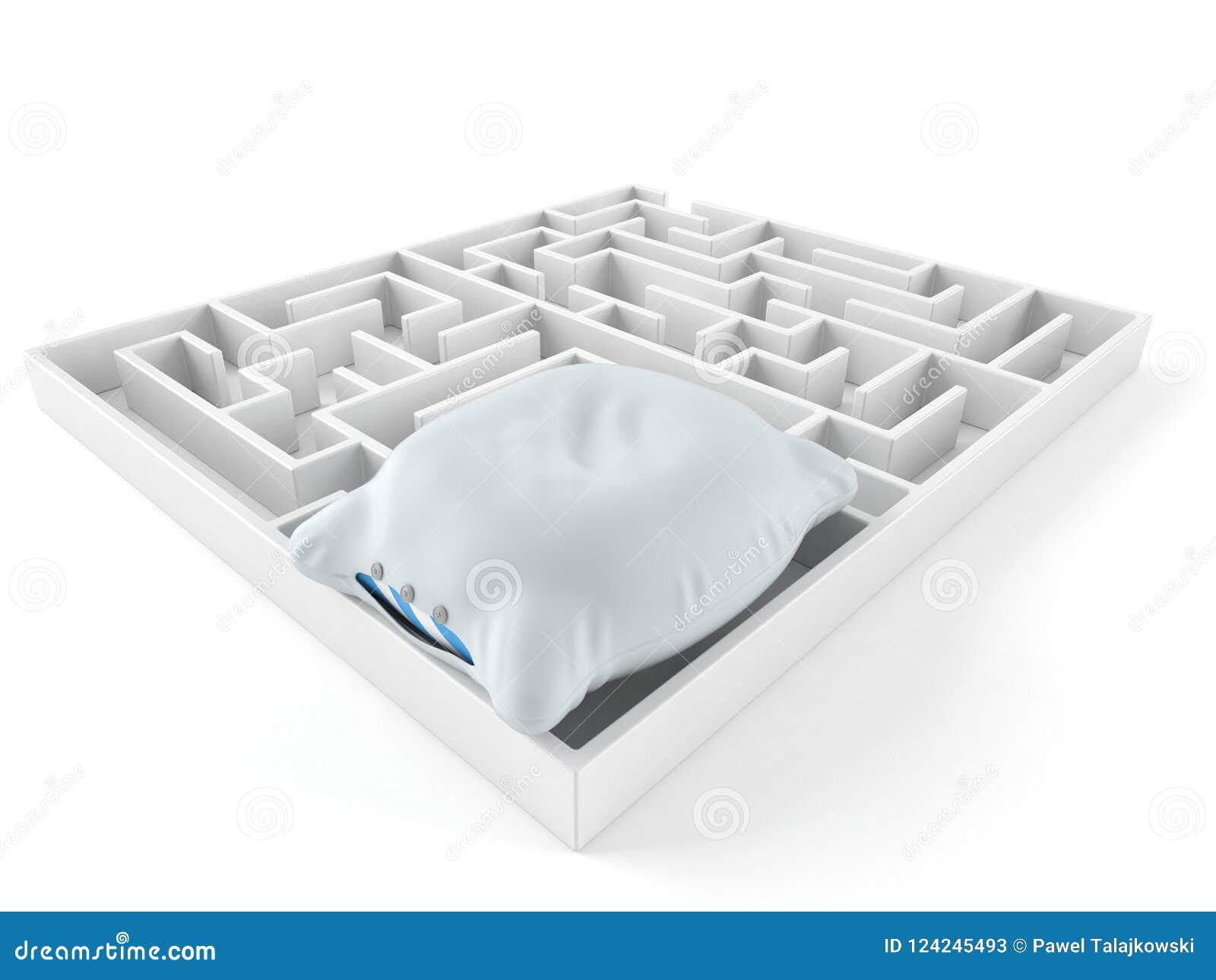 Descanso dentro do labirinto