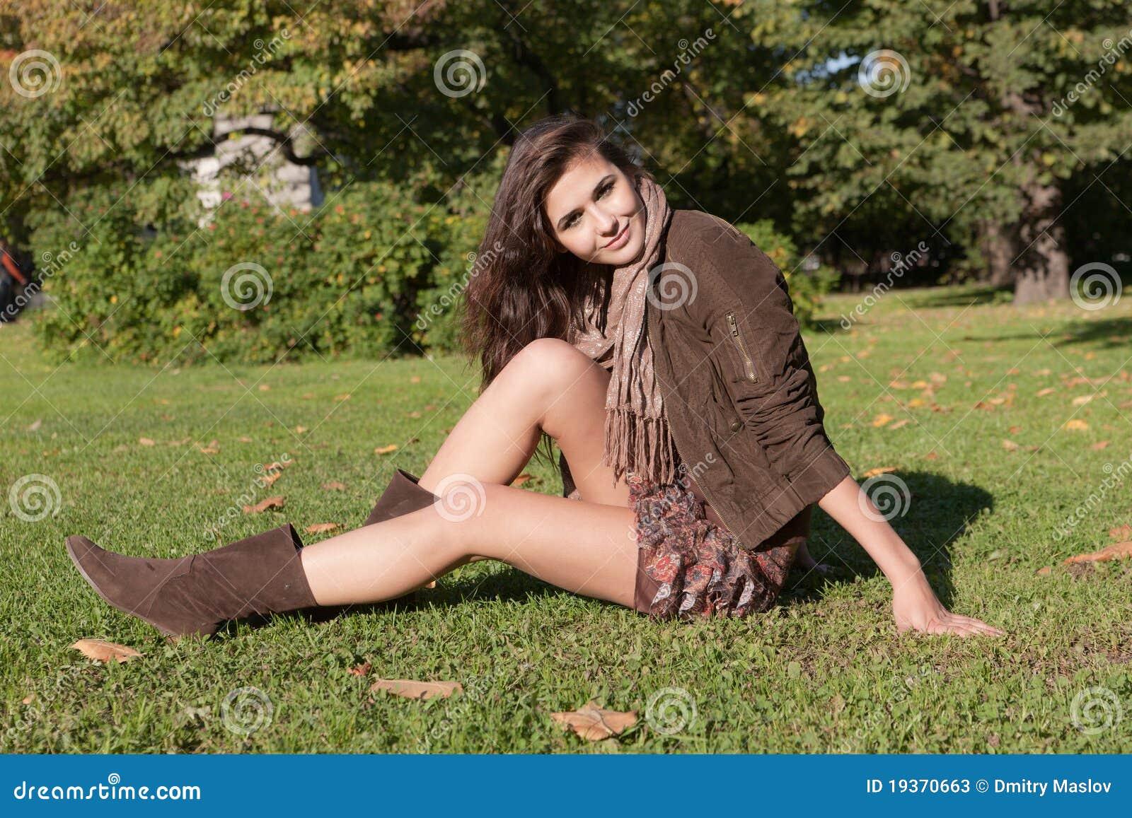 Descanso na grama