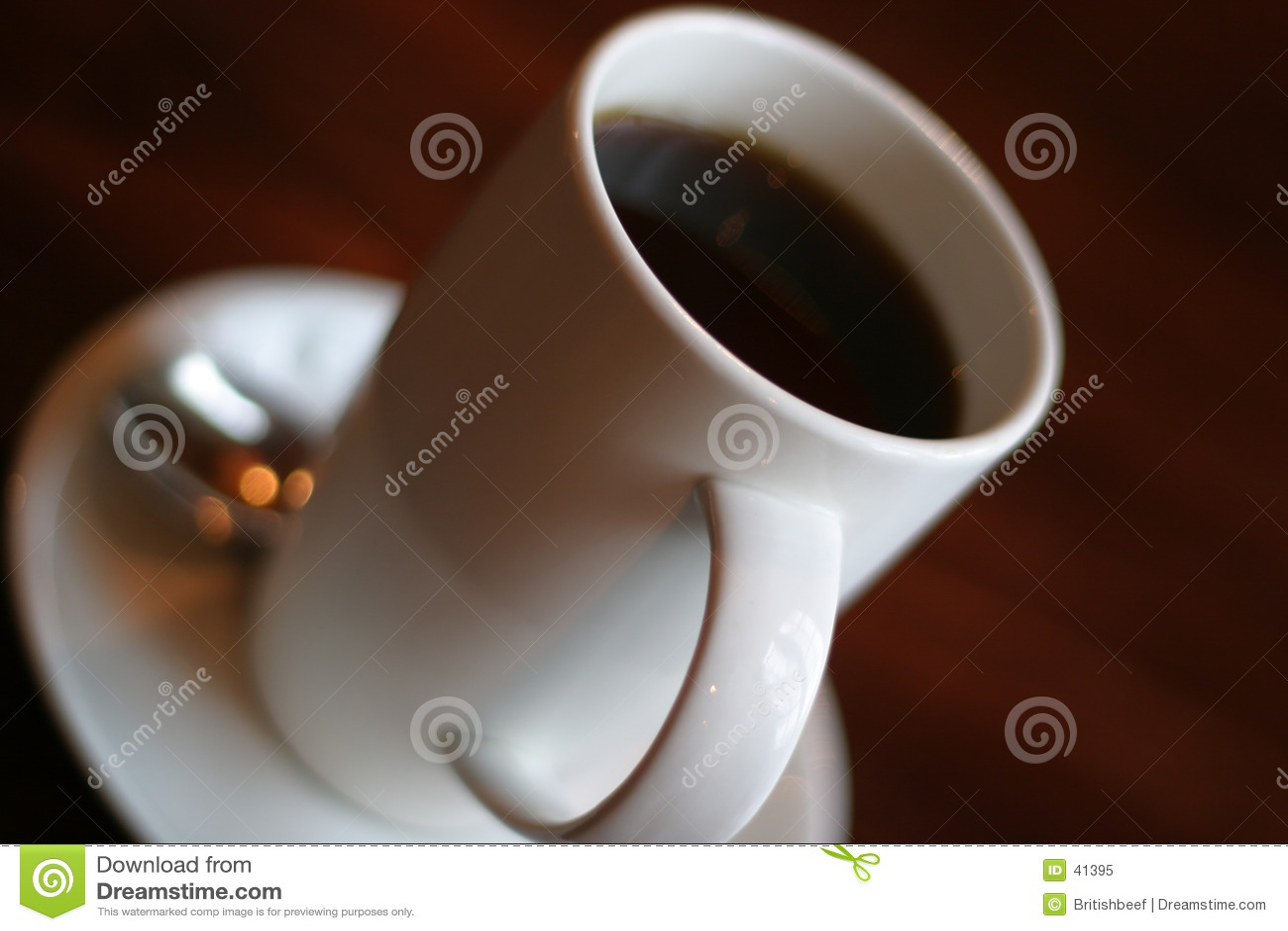 Download Descanso para tomar café imagen de archivo. Imagen de descafeinado - 41395