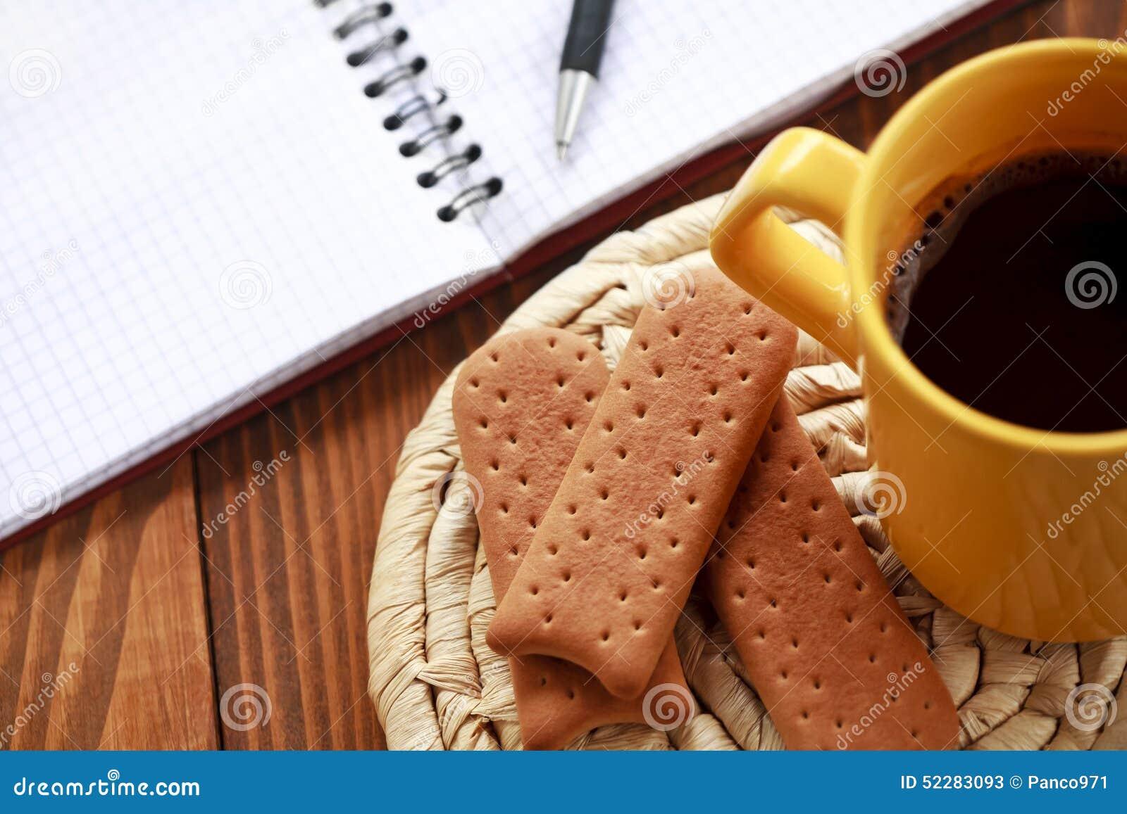 Descanso para tomar café en el trabajo