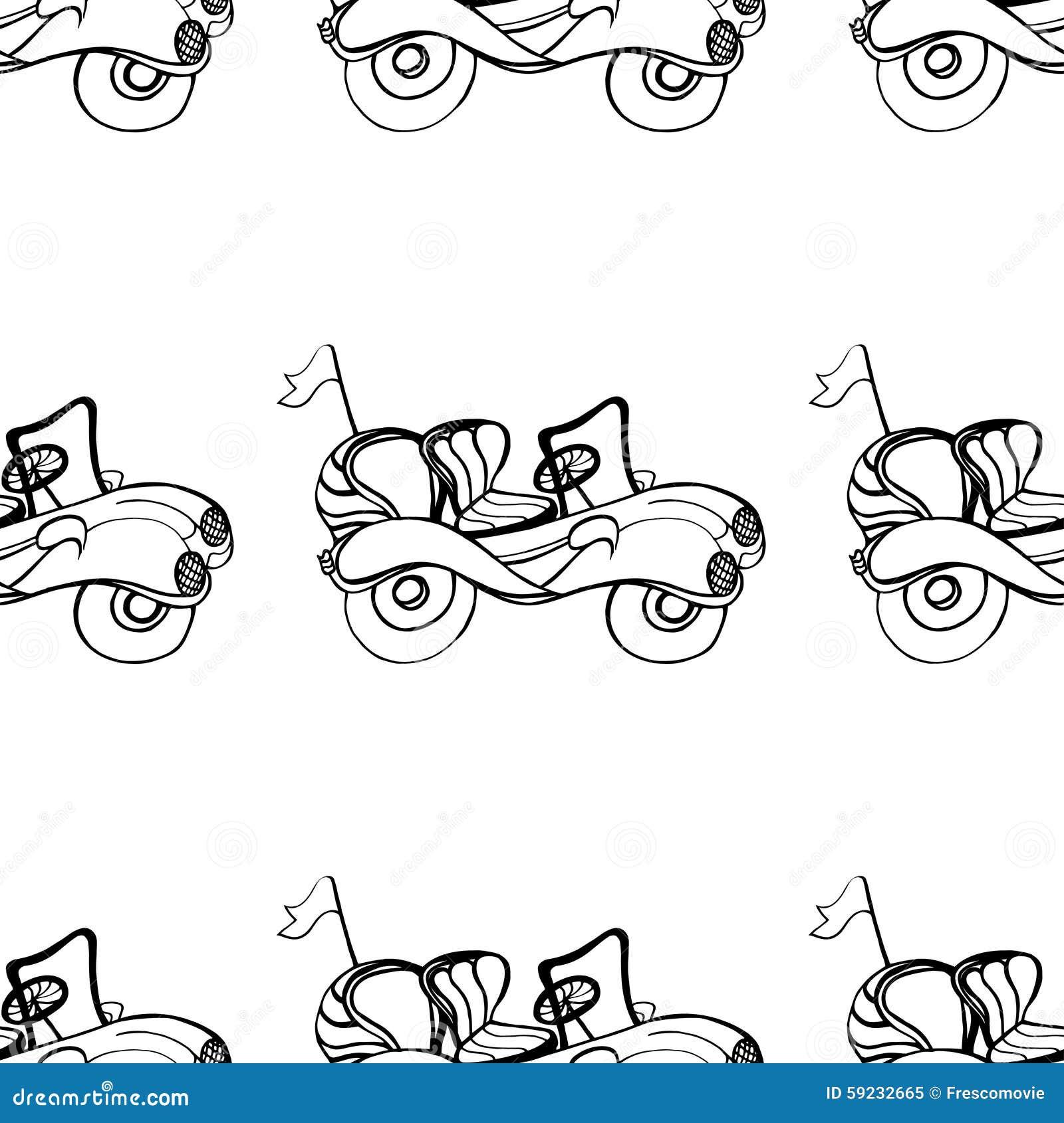 Download Descapotable del coche ilustración del vector. Ilustración de ilustración - 59232665