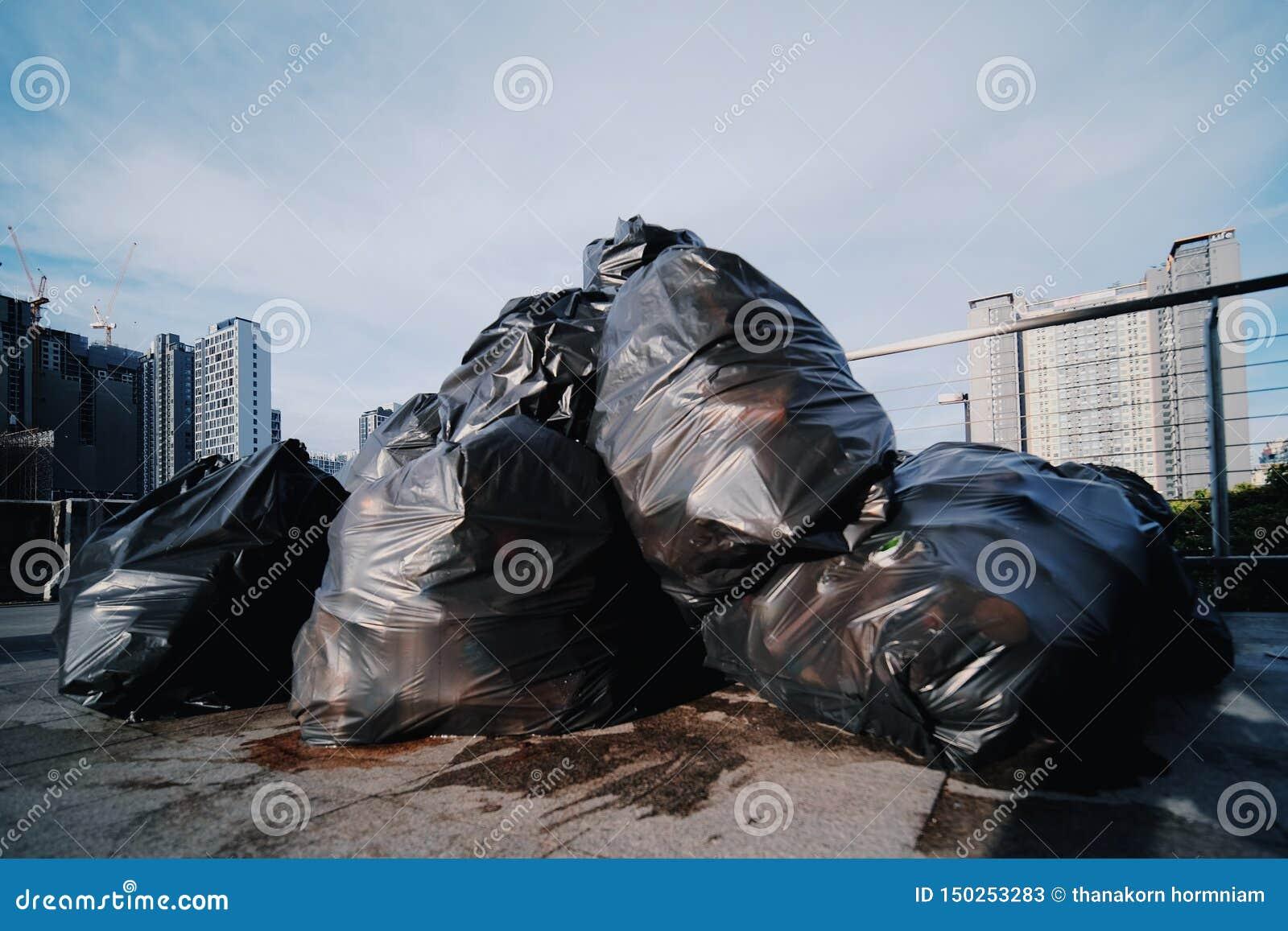 Descarga de lixo na cidade