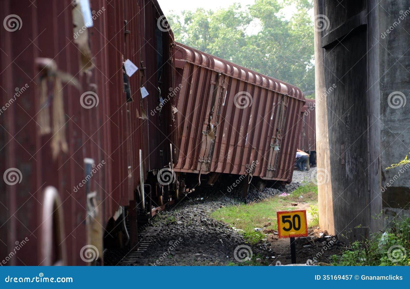Descarrilamento de trem
