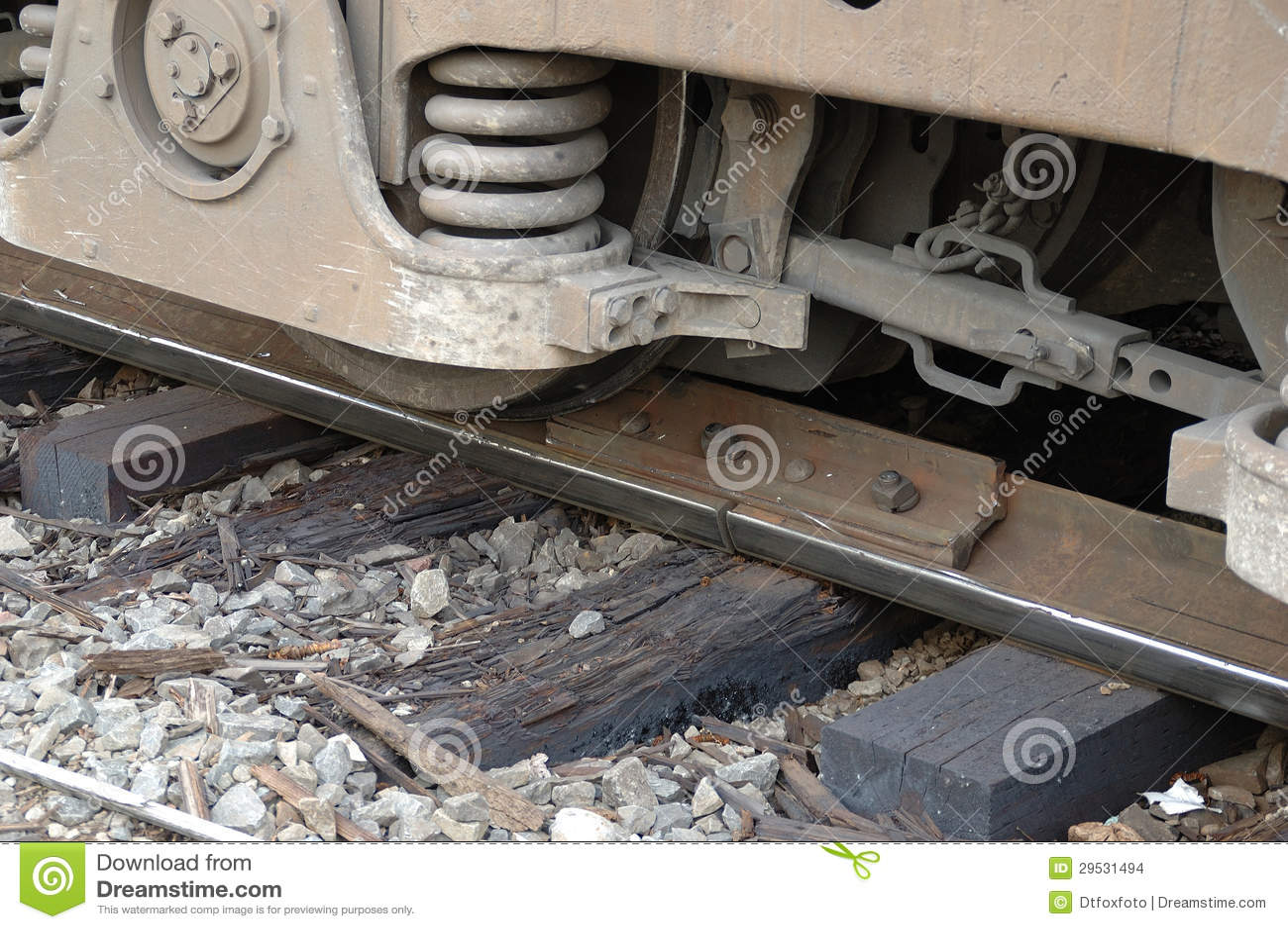 Descarrilamento locomotivo