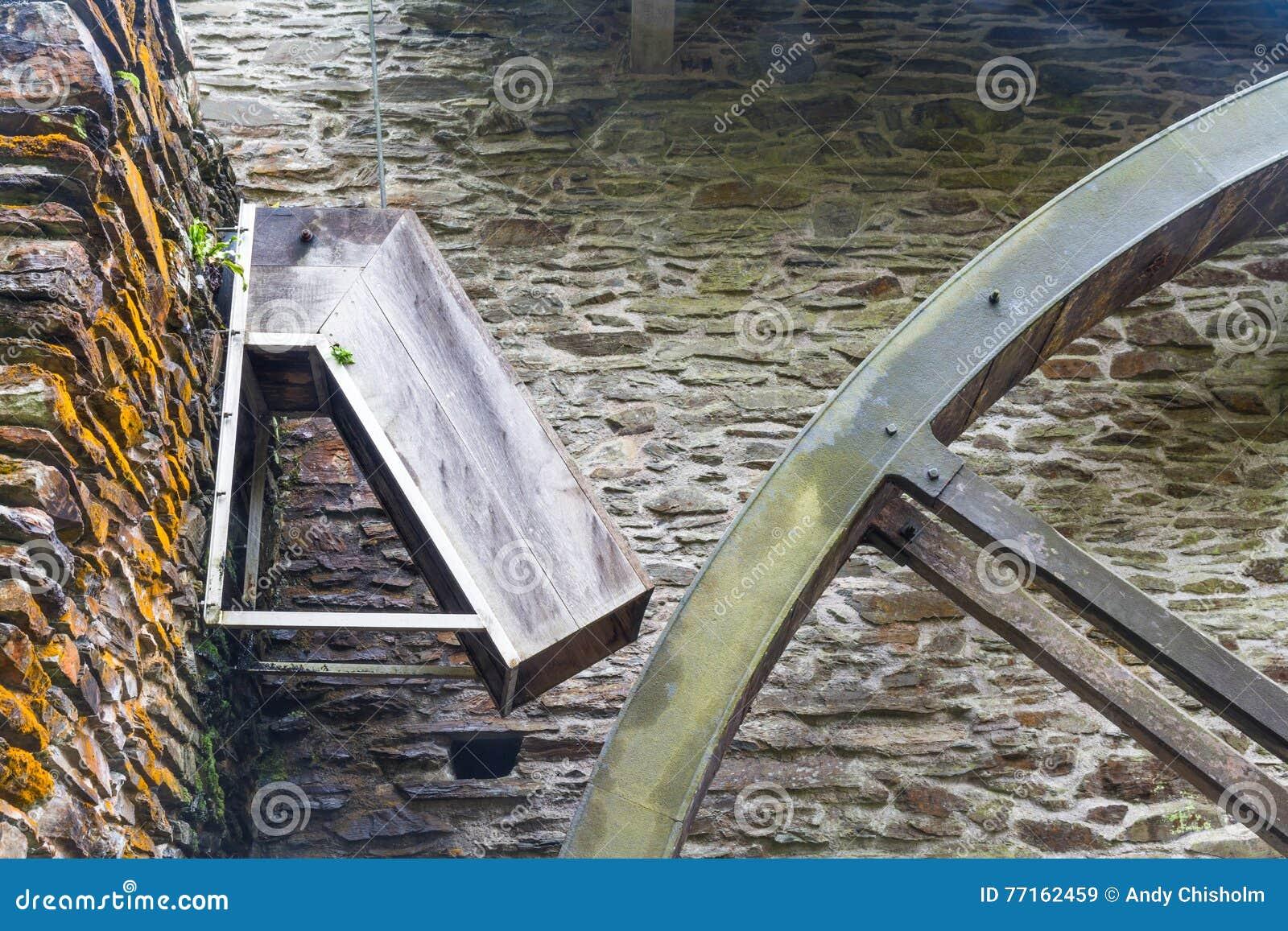 Descendeur pour la roue d eau