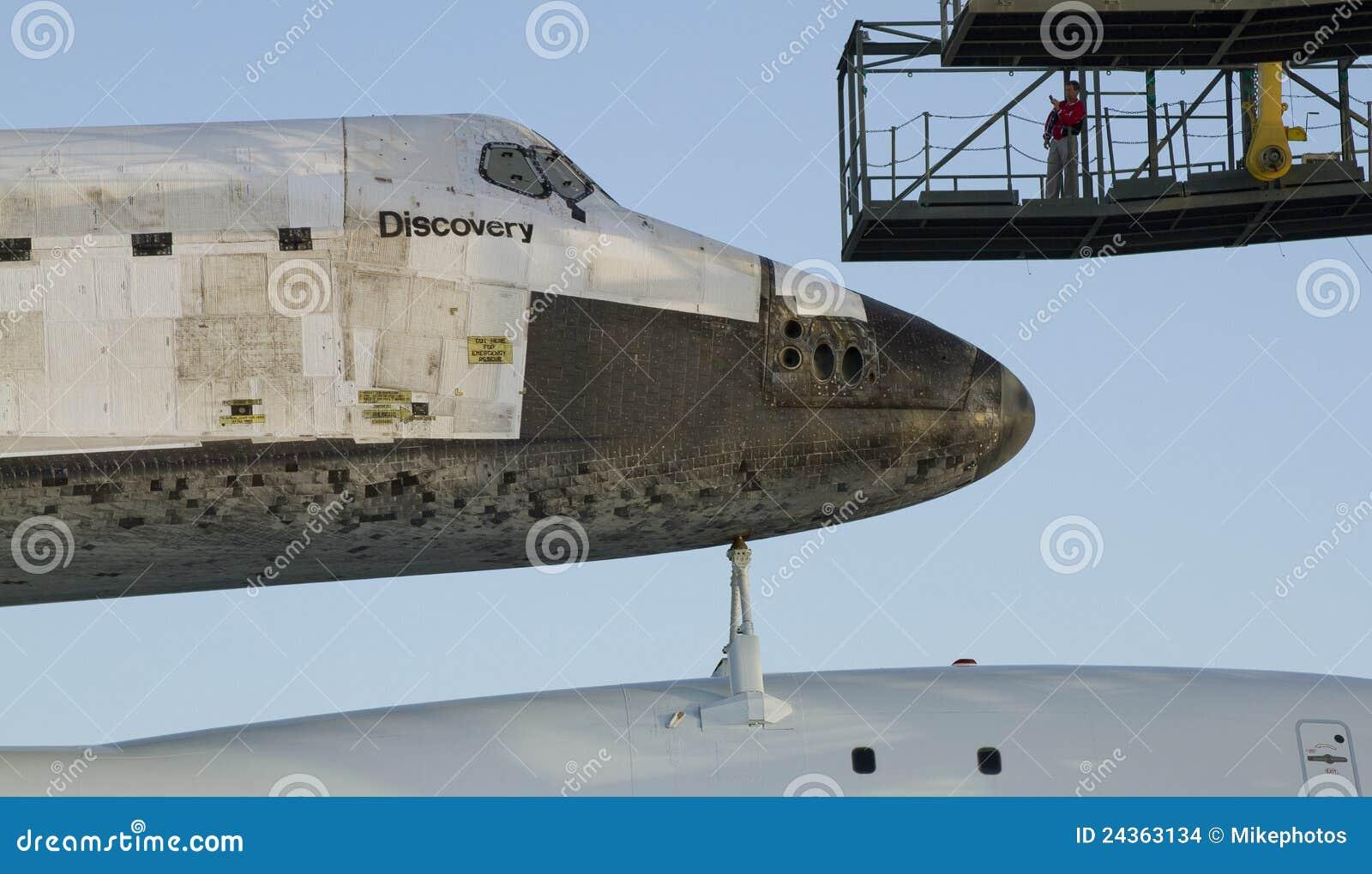Descoberta da canela de espaço