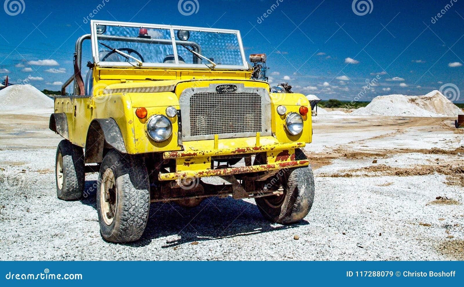 Descoberta velha de Land rover