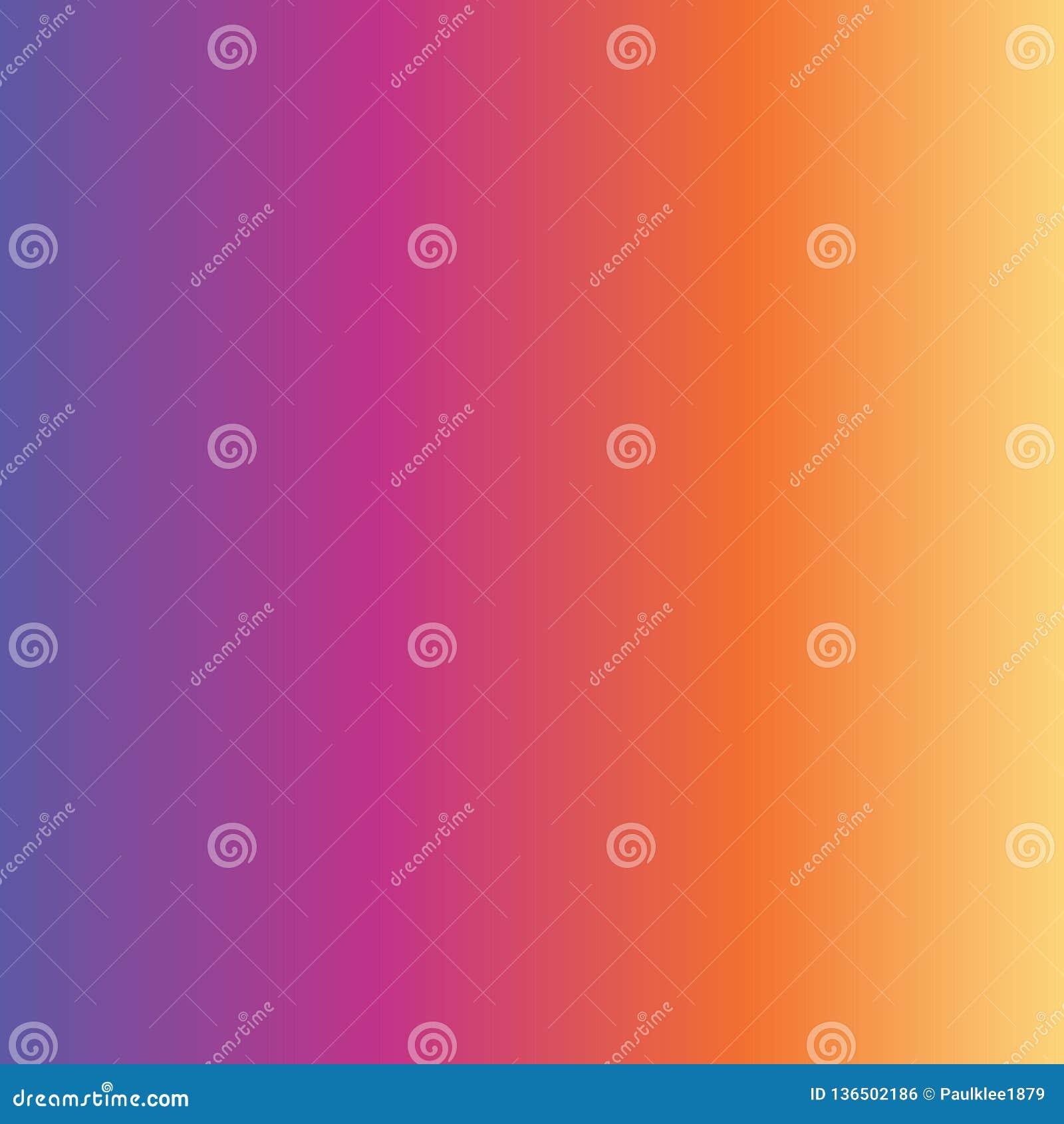 Descoloramiento amarillo anaranjado de la pendiente del rosa púrpura abstracto del fondo