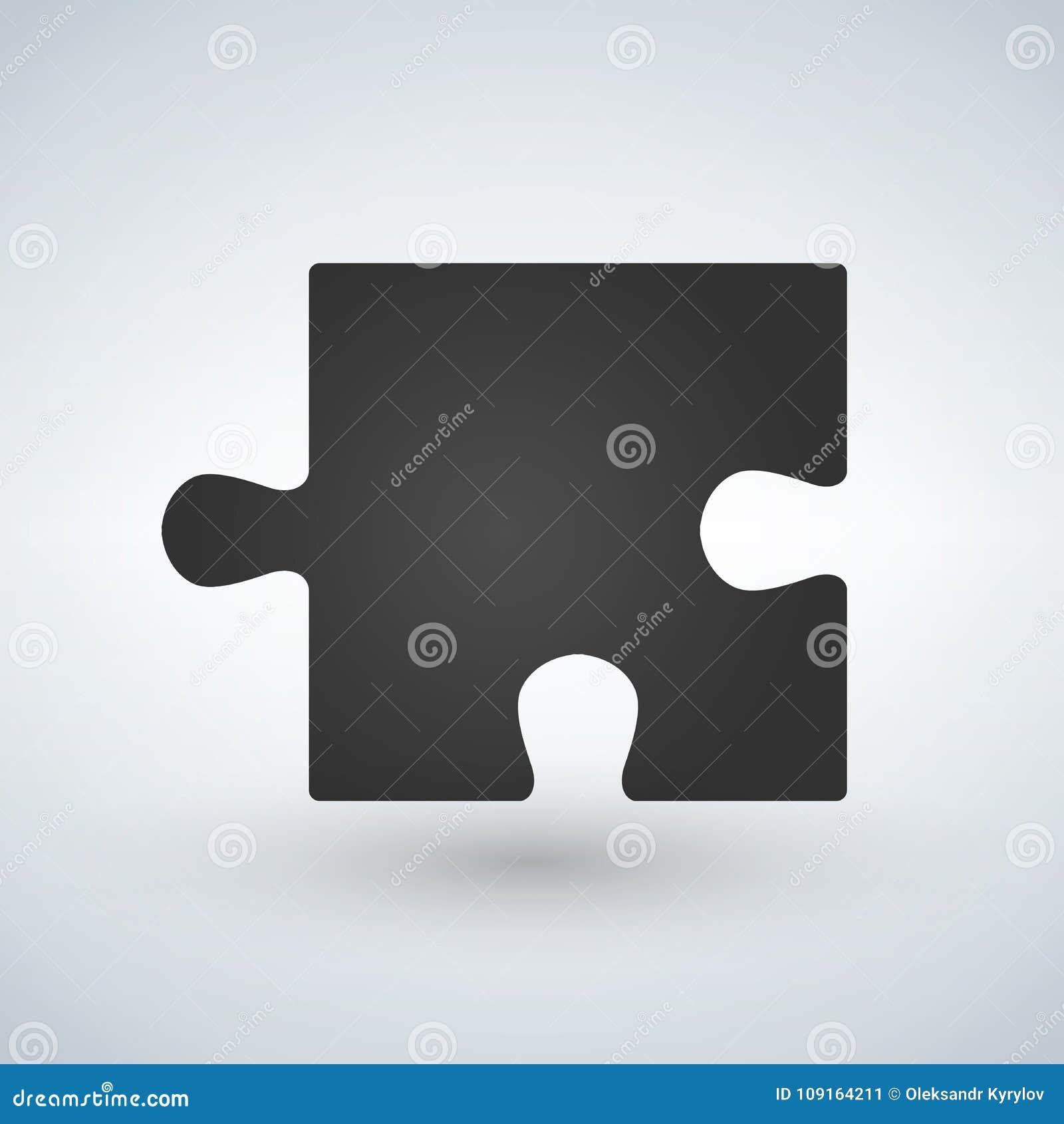 Desconcierte el icono plano del pedazo para los apps y los sitios web