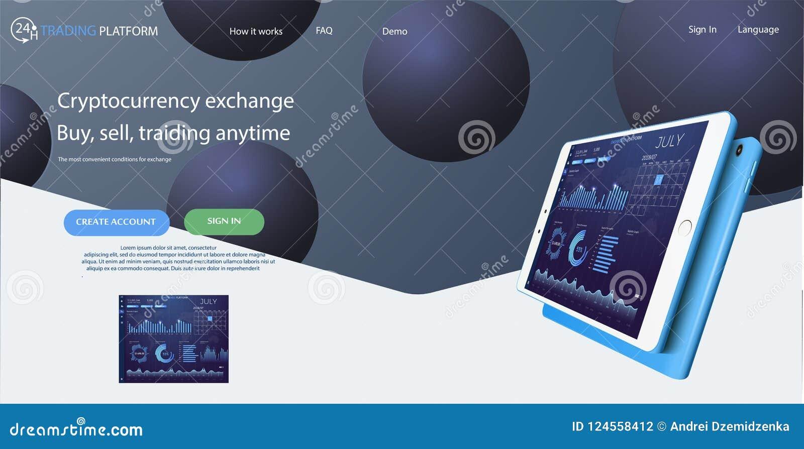 Descripteur de site Web Les forex lancent sur le marché, des actualités et analyse Option binaire Écran d application pour le com