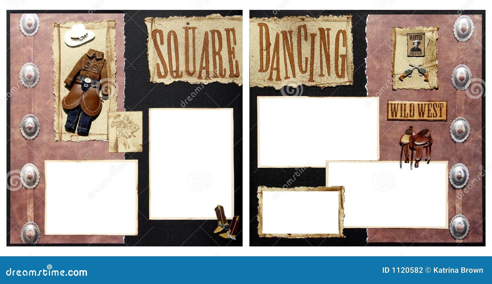 Descripteur de trame d album à danse carrée
