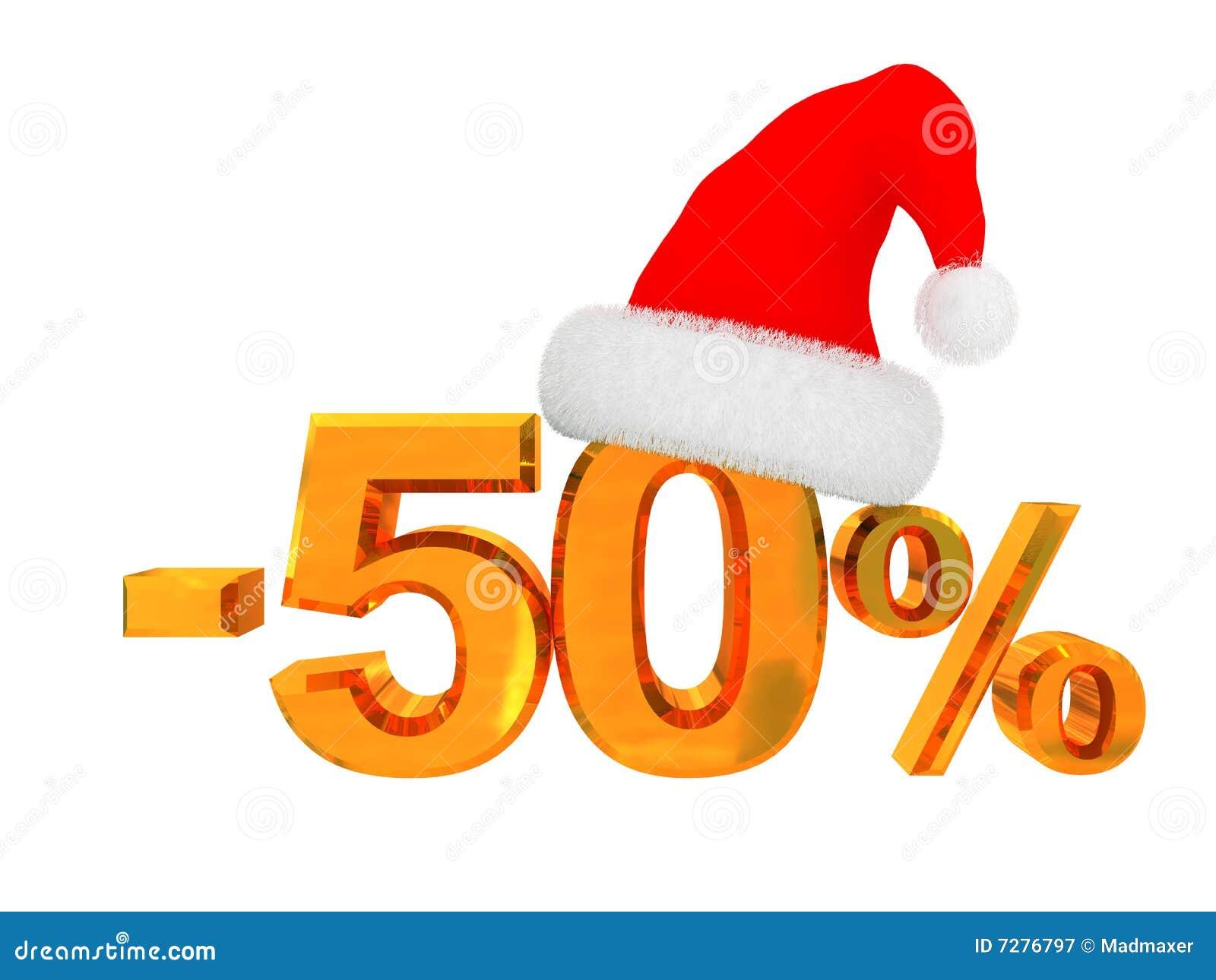 Descuento del 50 por ciento
