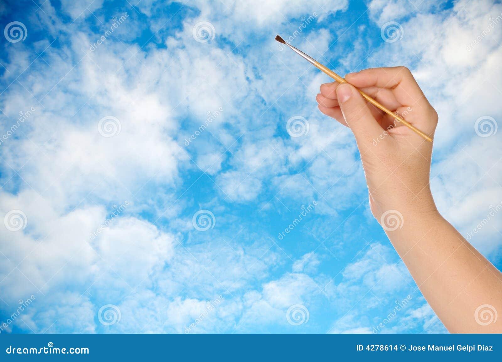 Desenhando um céu