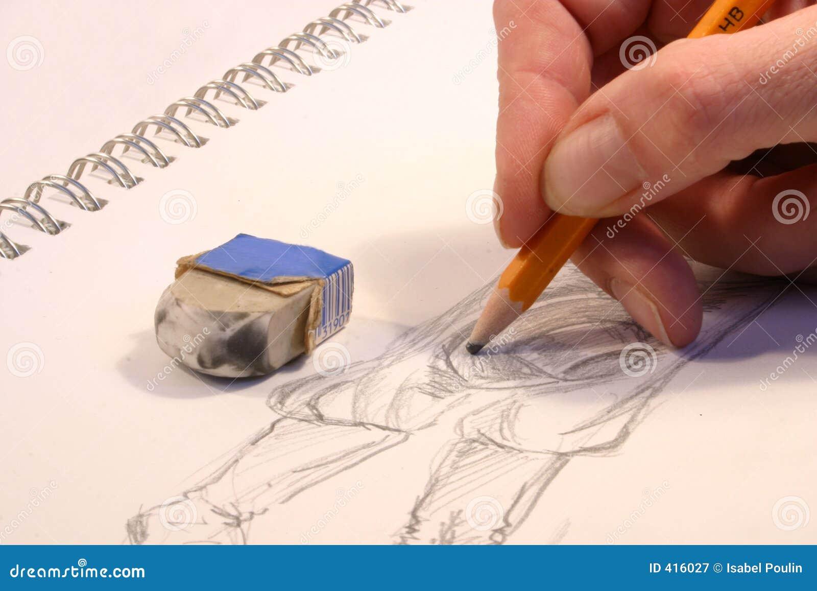 Desenho da mão