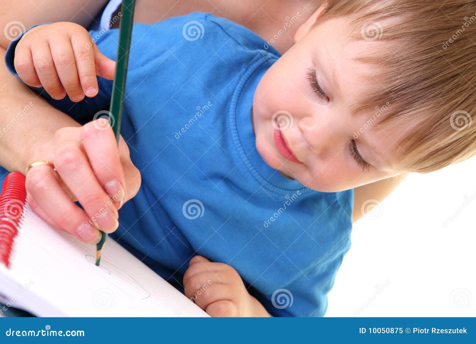 Desenho da matriz e do filho