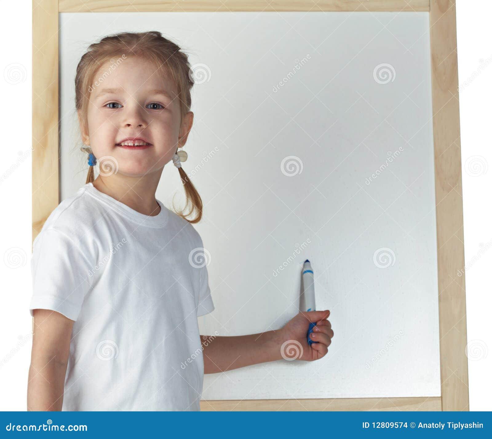 Desenho da menina