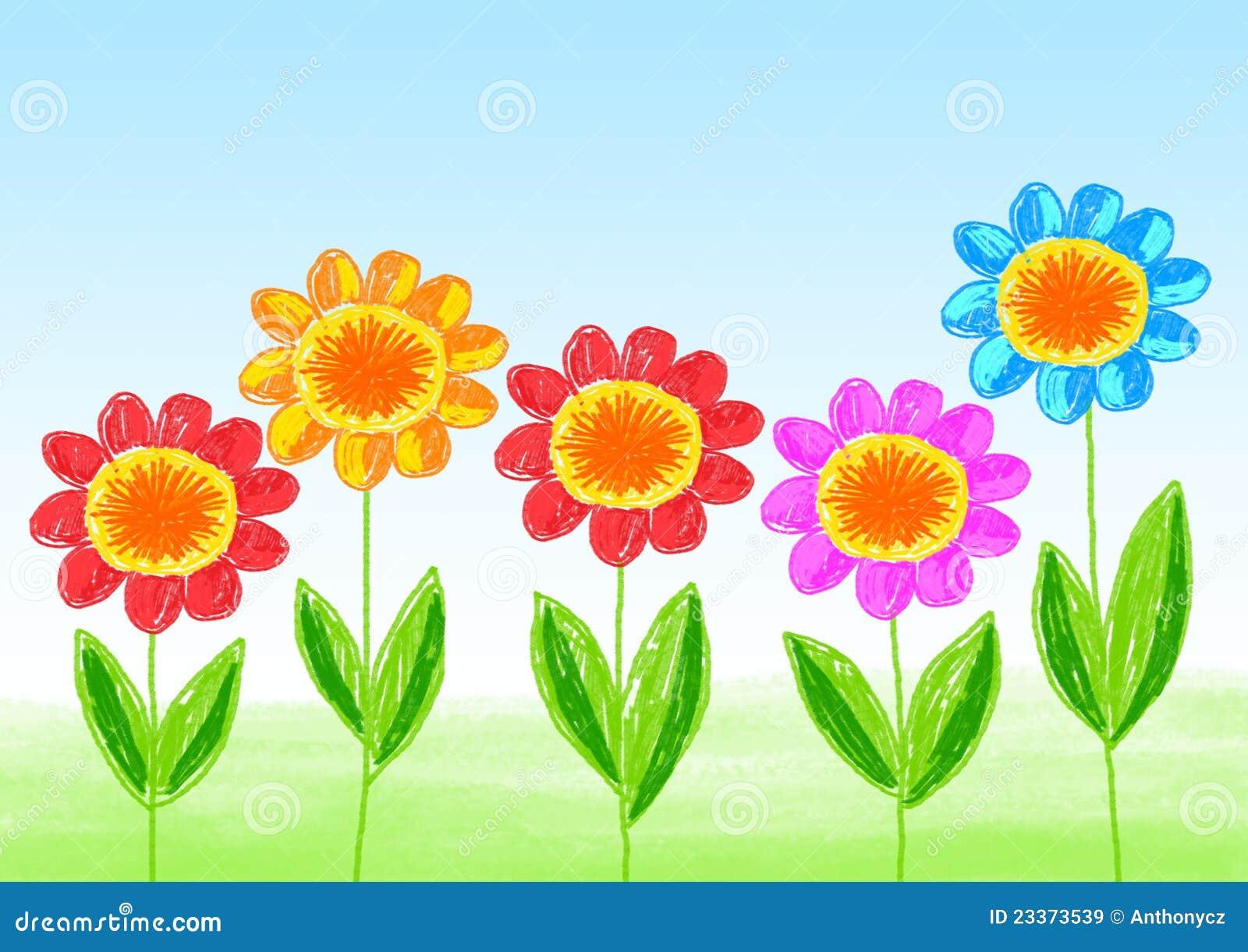 Novo Desenhos De Flores Coloridas Para Imprimir Gratis Melhores
