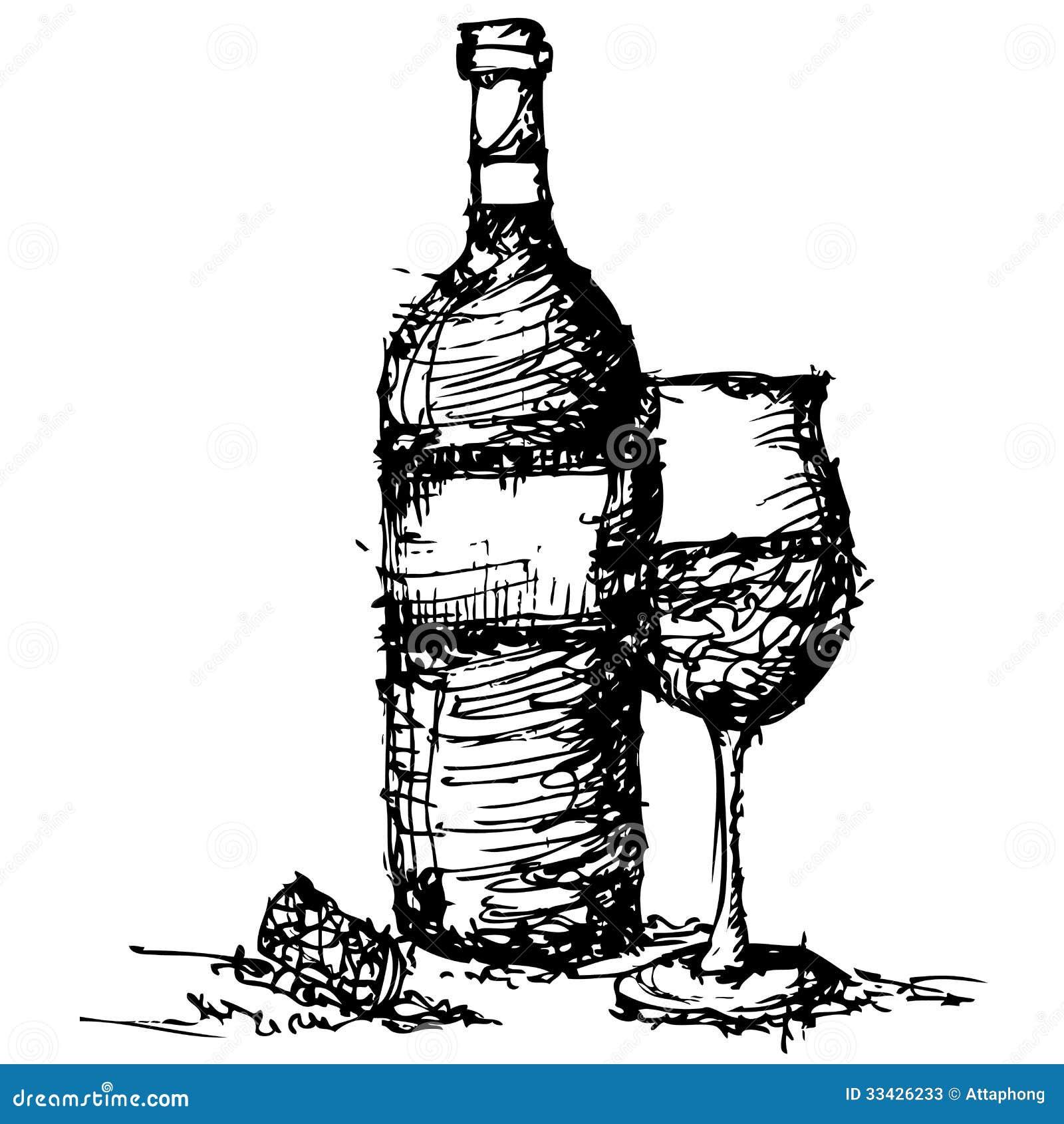 Resultado de imagem para vinho desenho