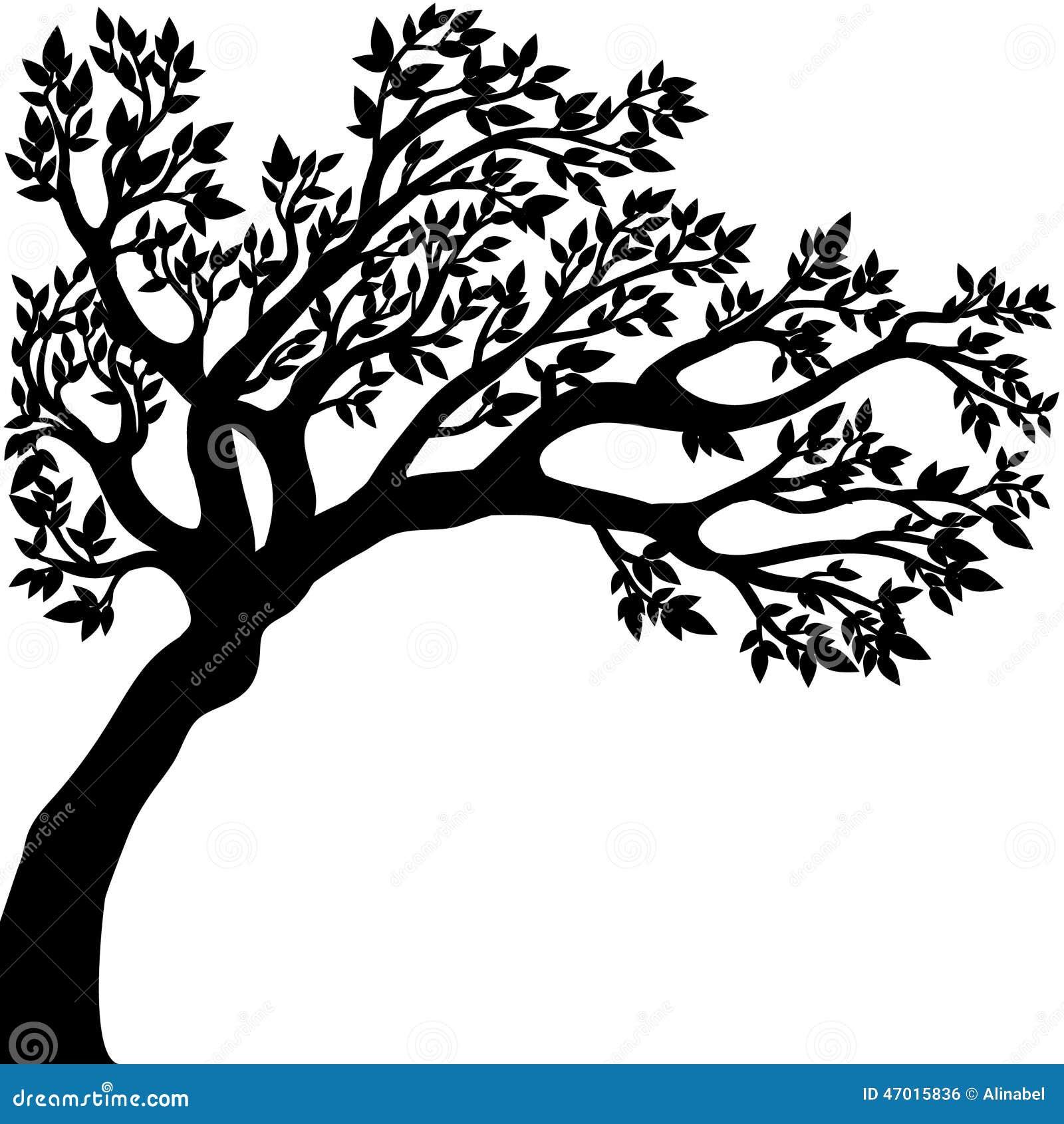Desenho Do Vetor Da árvore Ilustração Do Vetor Ilustração De Esboço