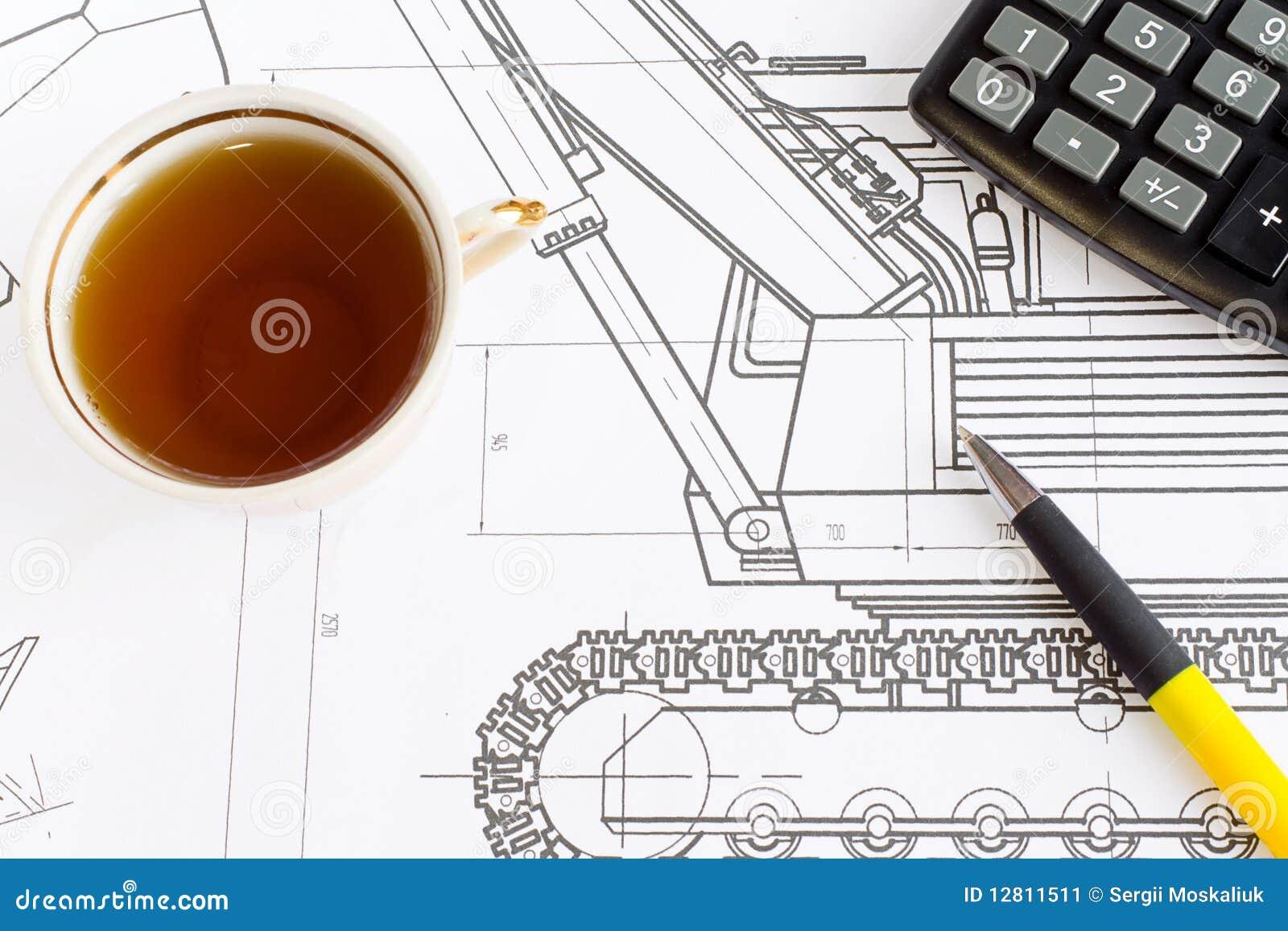 Desenho e chá