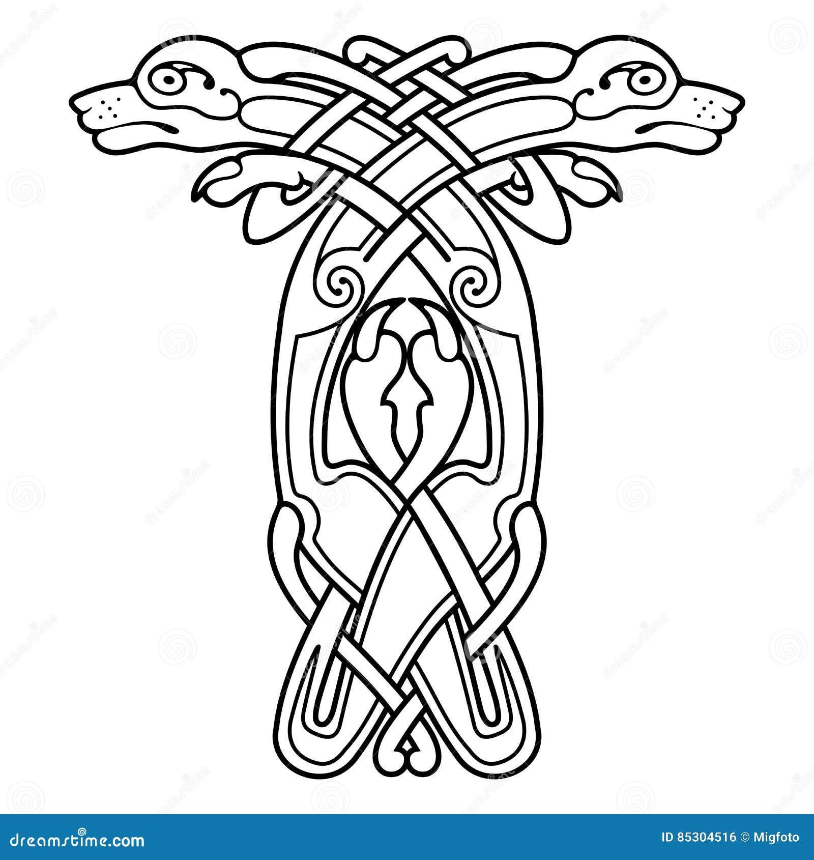 Desenho nacional celta