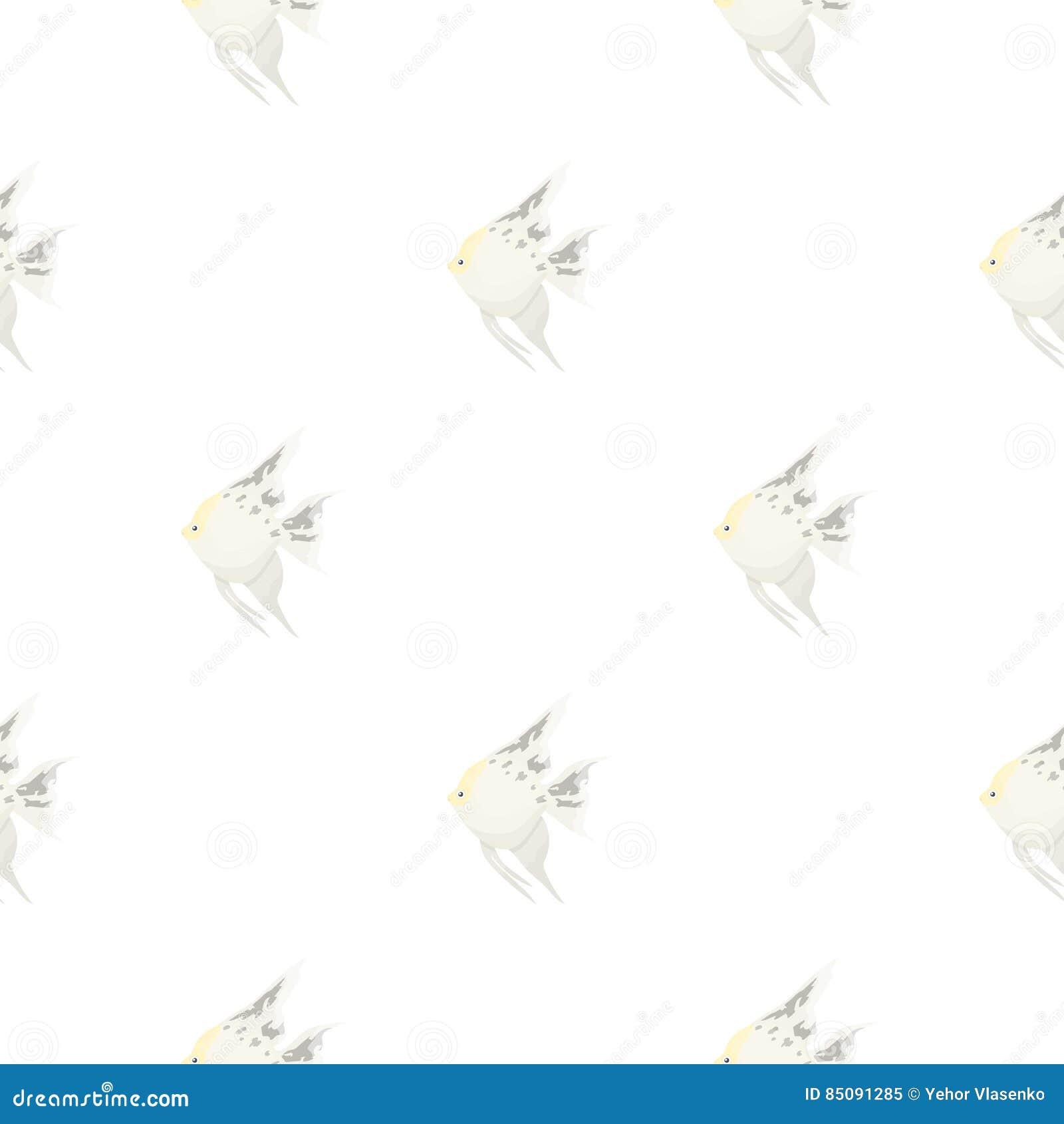 0ff6ee4251fc5 Desenhos animados comuns do ícone dos peixes da esquatina Chamusque o ícone  dos peixes do aquário