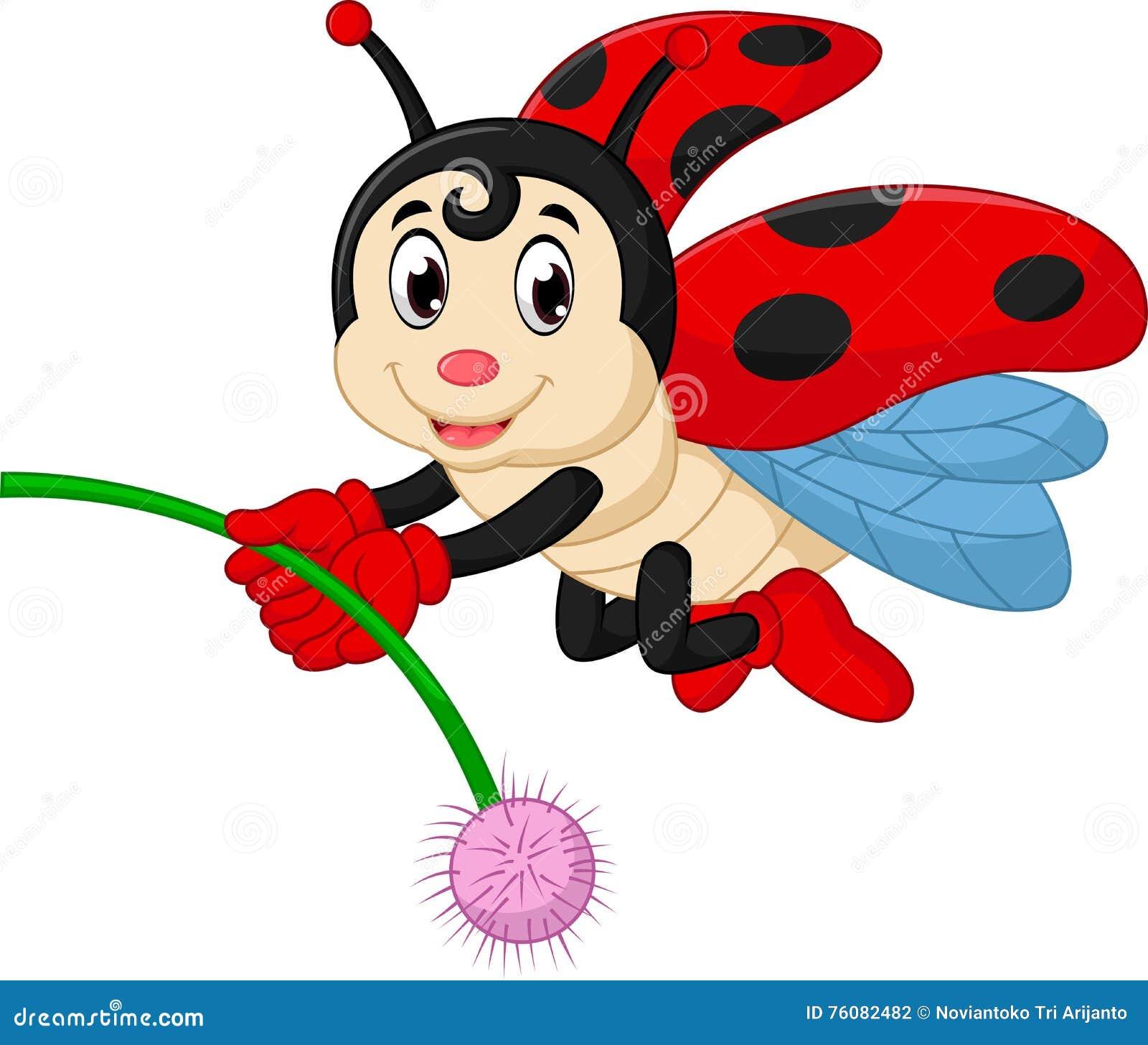 Desenho Joaninha ~ Desenhos Animados Do Joaninha Ilustraç u00e3o do Vetor Imagem 76082482