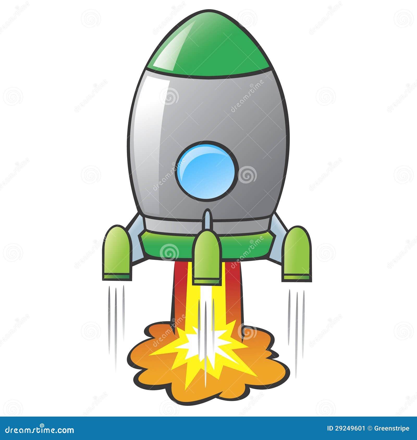 Download Desenhos animados Rocket ilustração do vetor. Ilustração de criança - 29249601