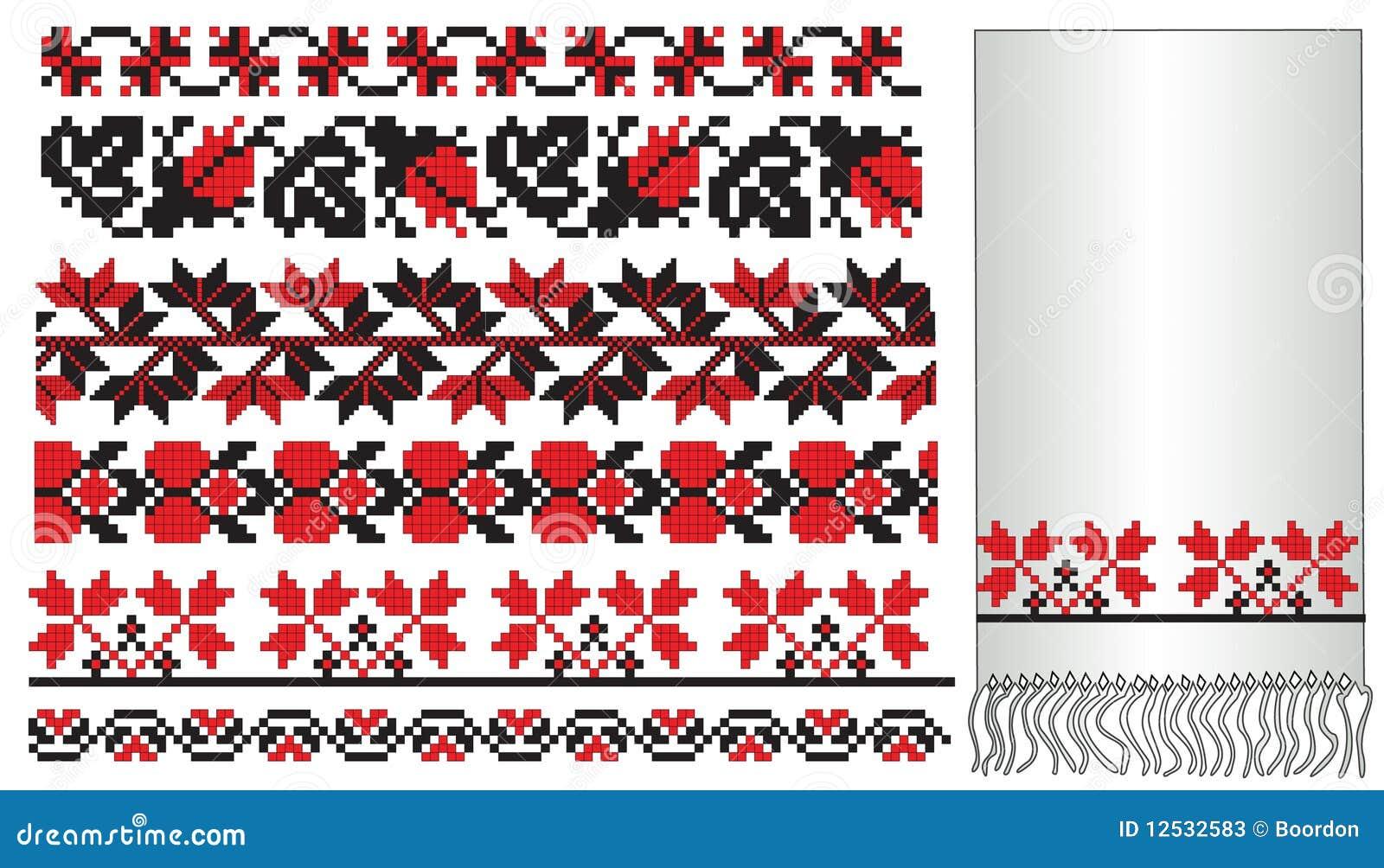 Deseniowy embroder ukrainian