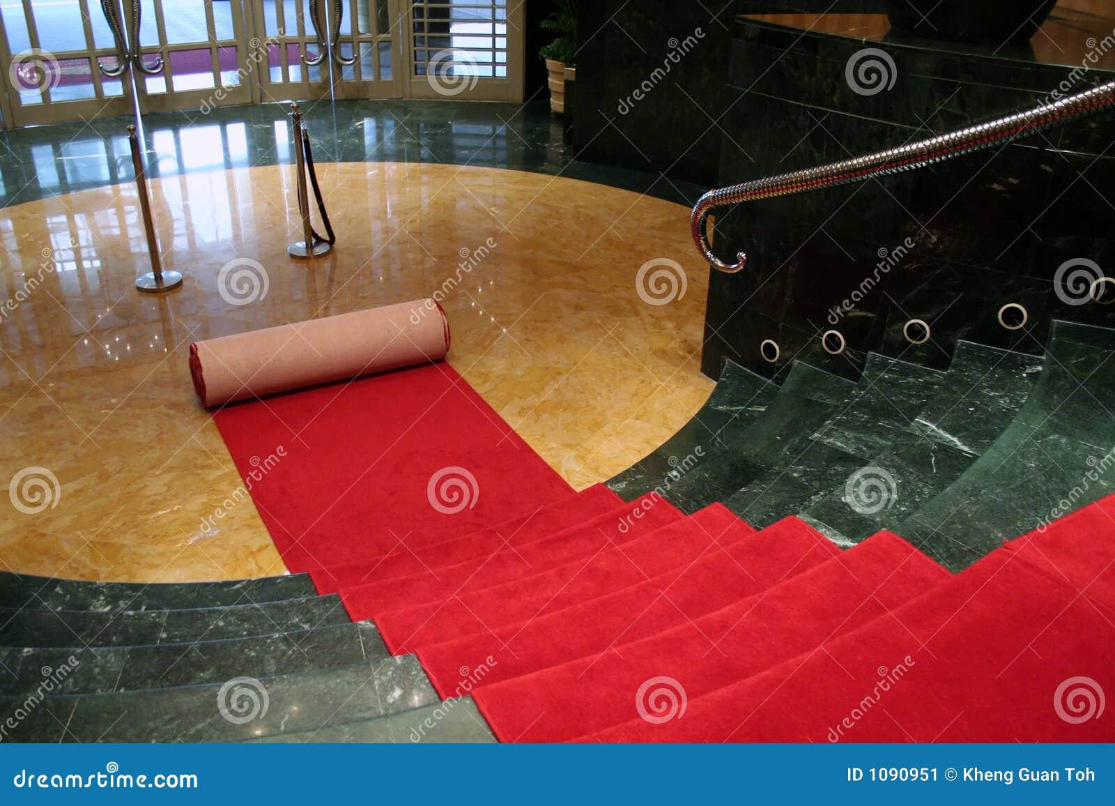 Desenrolando o tapete vermelho