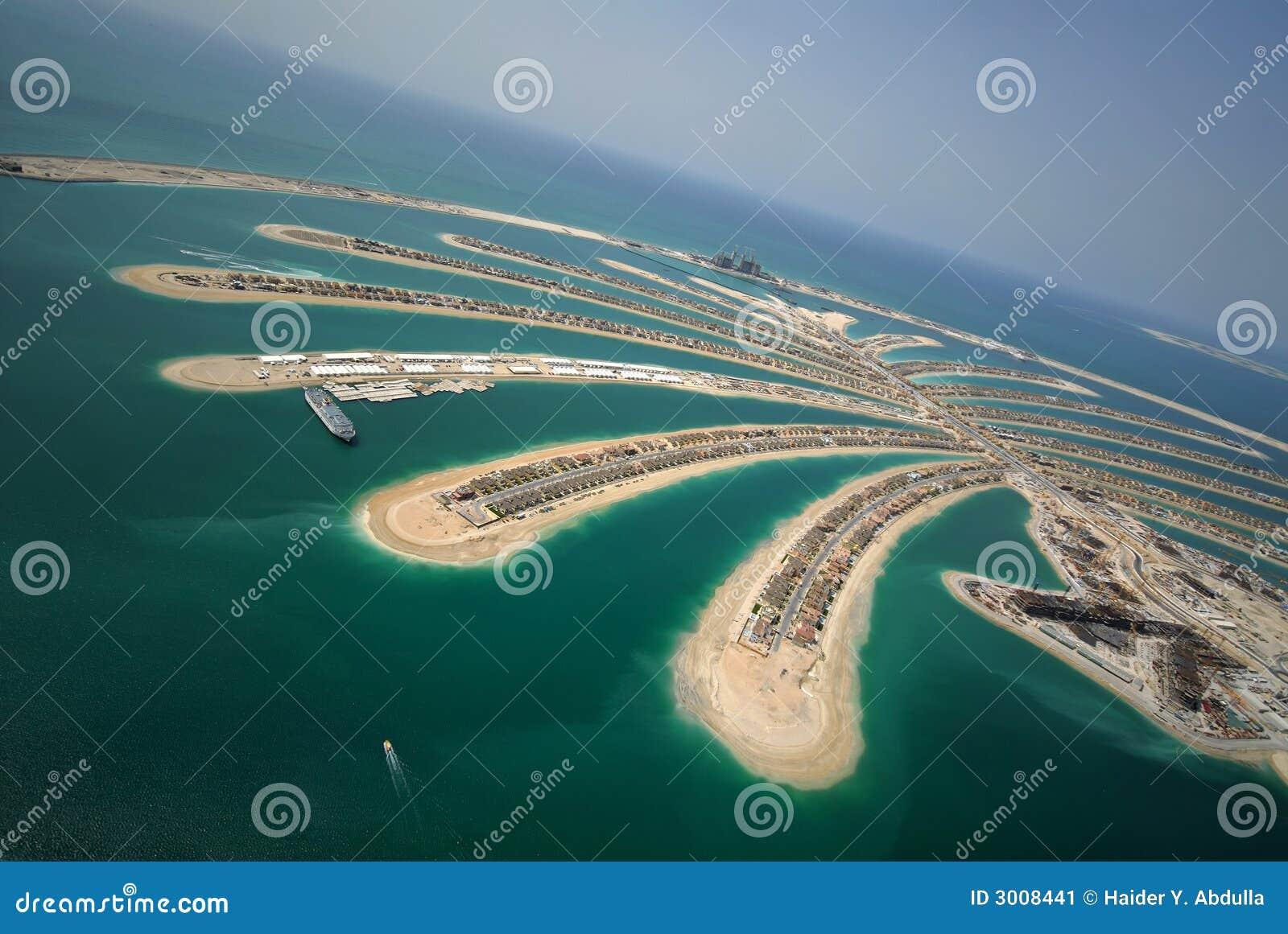 Desenvolvimento da palma de Jumeirah