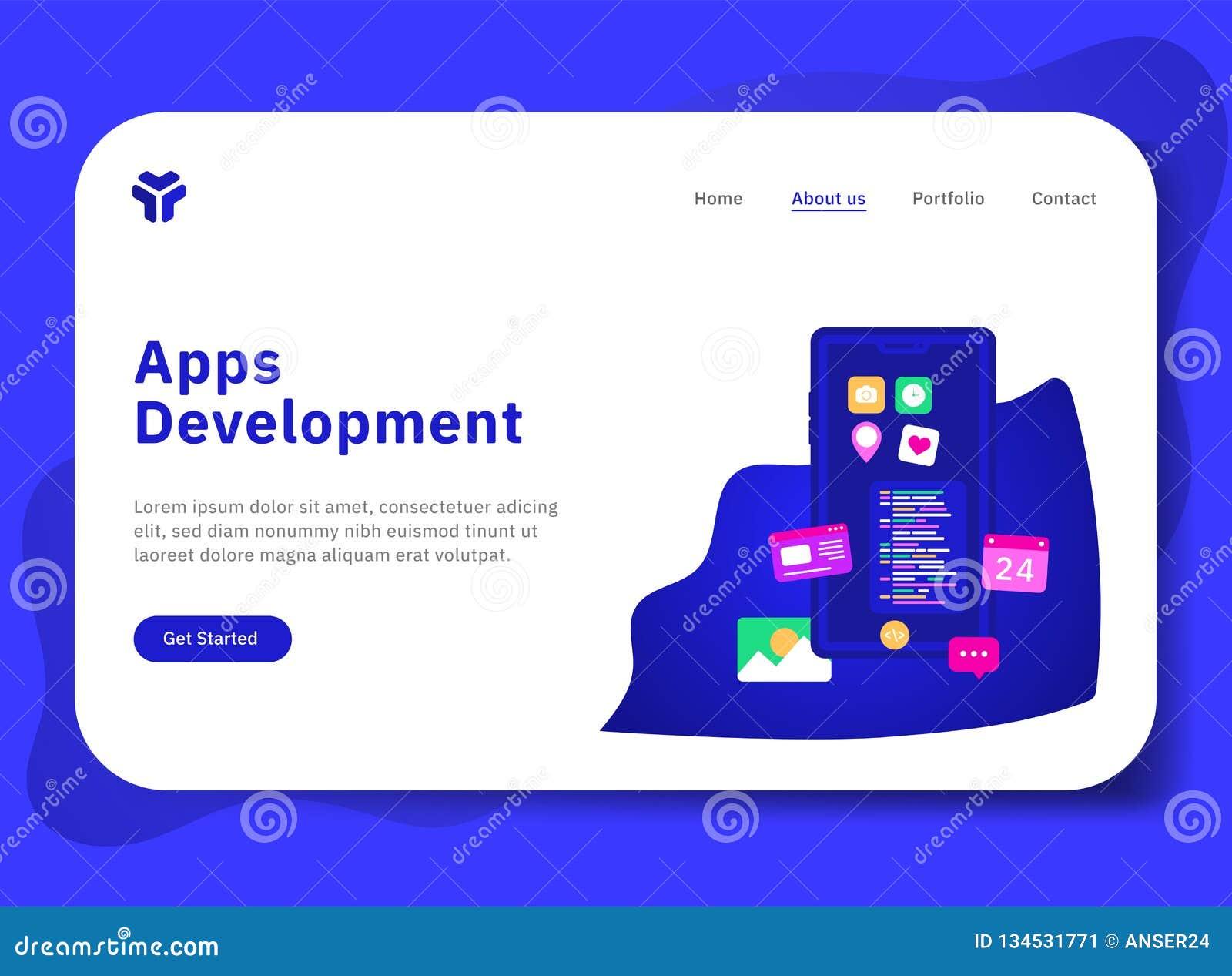 Desenvolvimento dos Apps com telefone